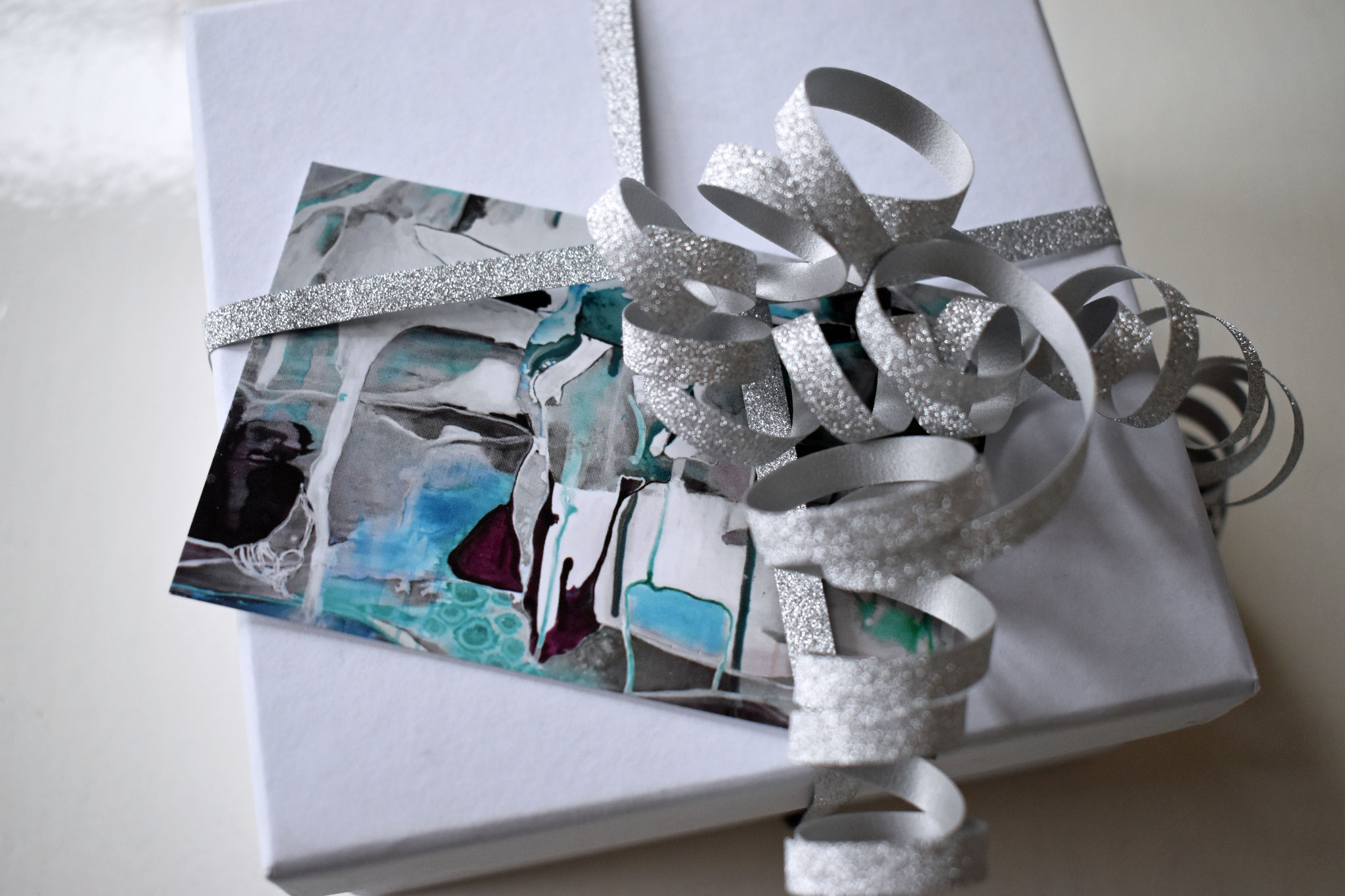 """Bull of the Glaciers"" gift tag (set of 5), €6,90"