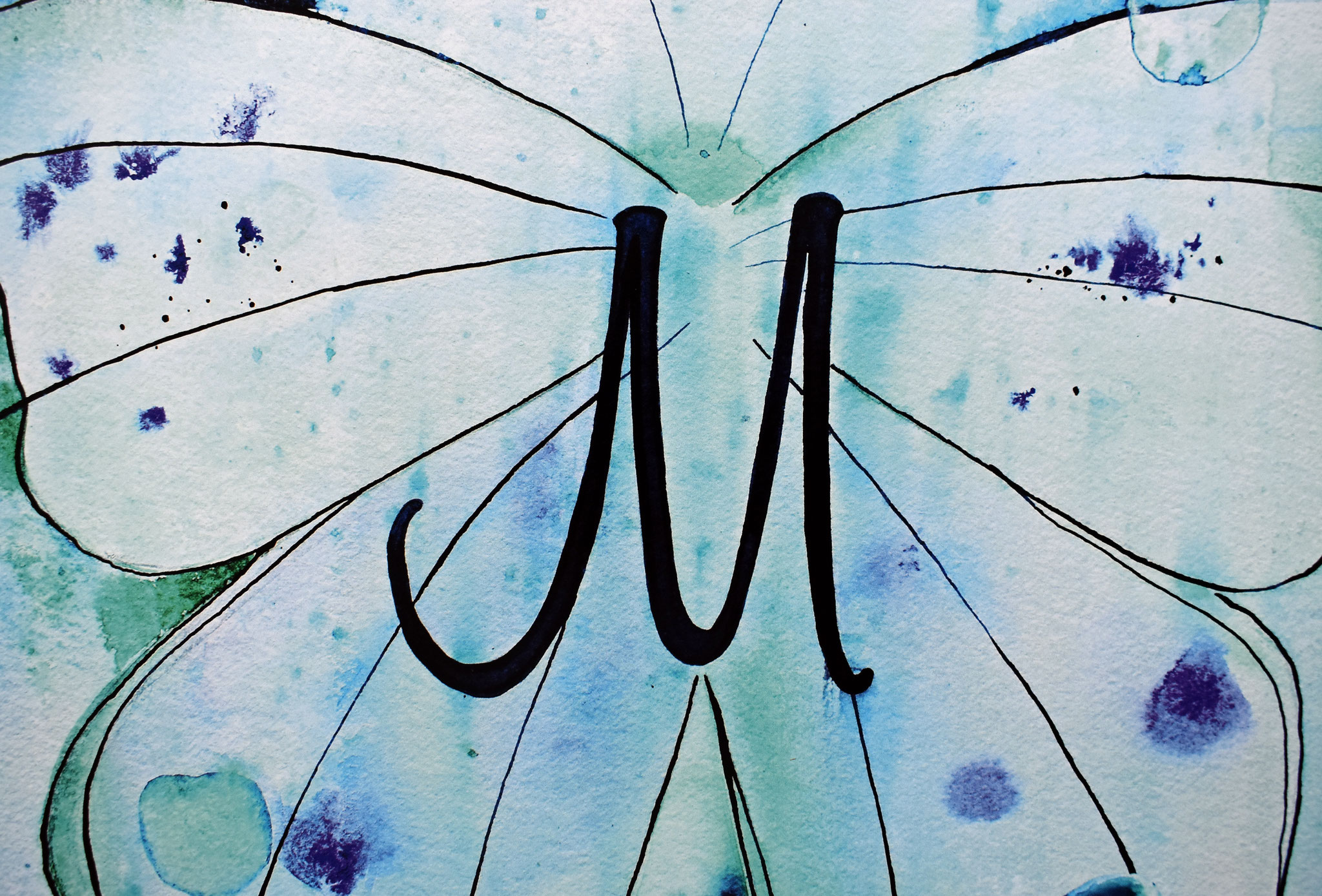 """M"" Nursery Collection Print DIN A3, € 39.-"