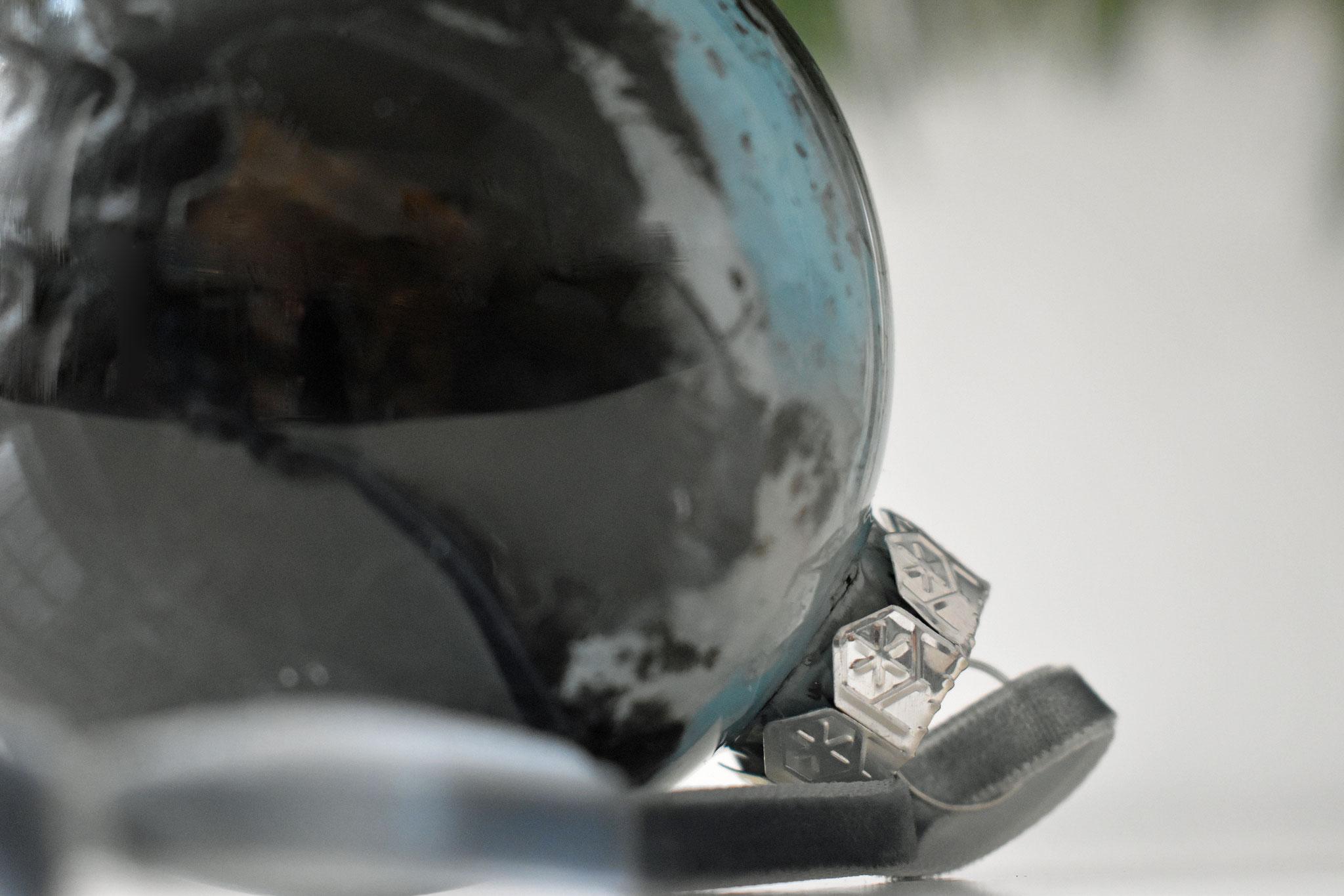 """Black Ice"" glass Christmas ornament, ∅ 8 cm € 39.-"