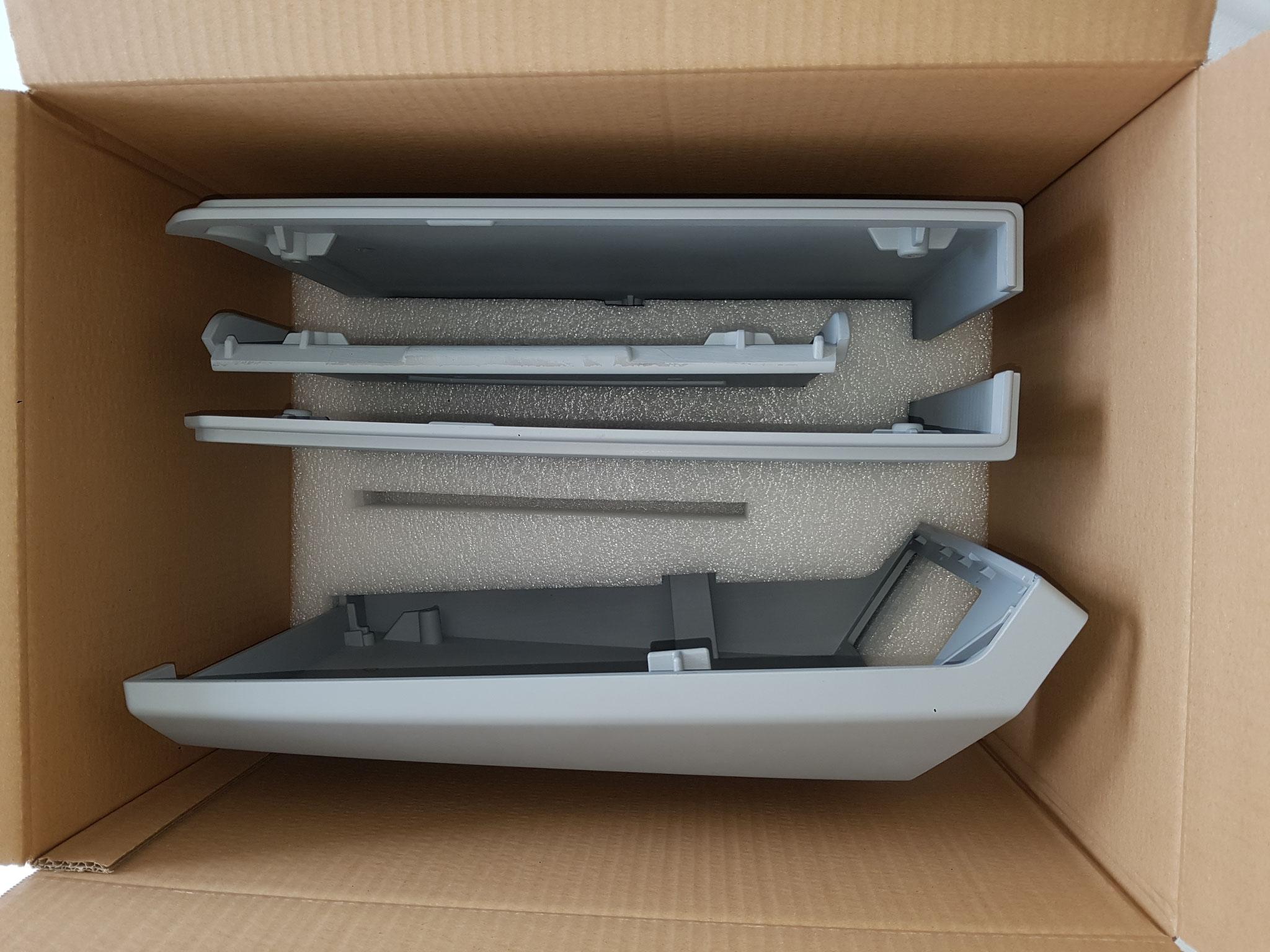 Verpackung für Gehäuseteile