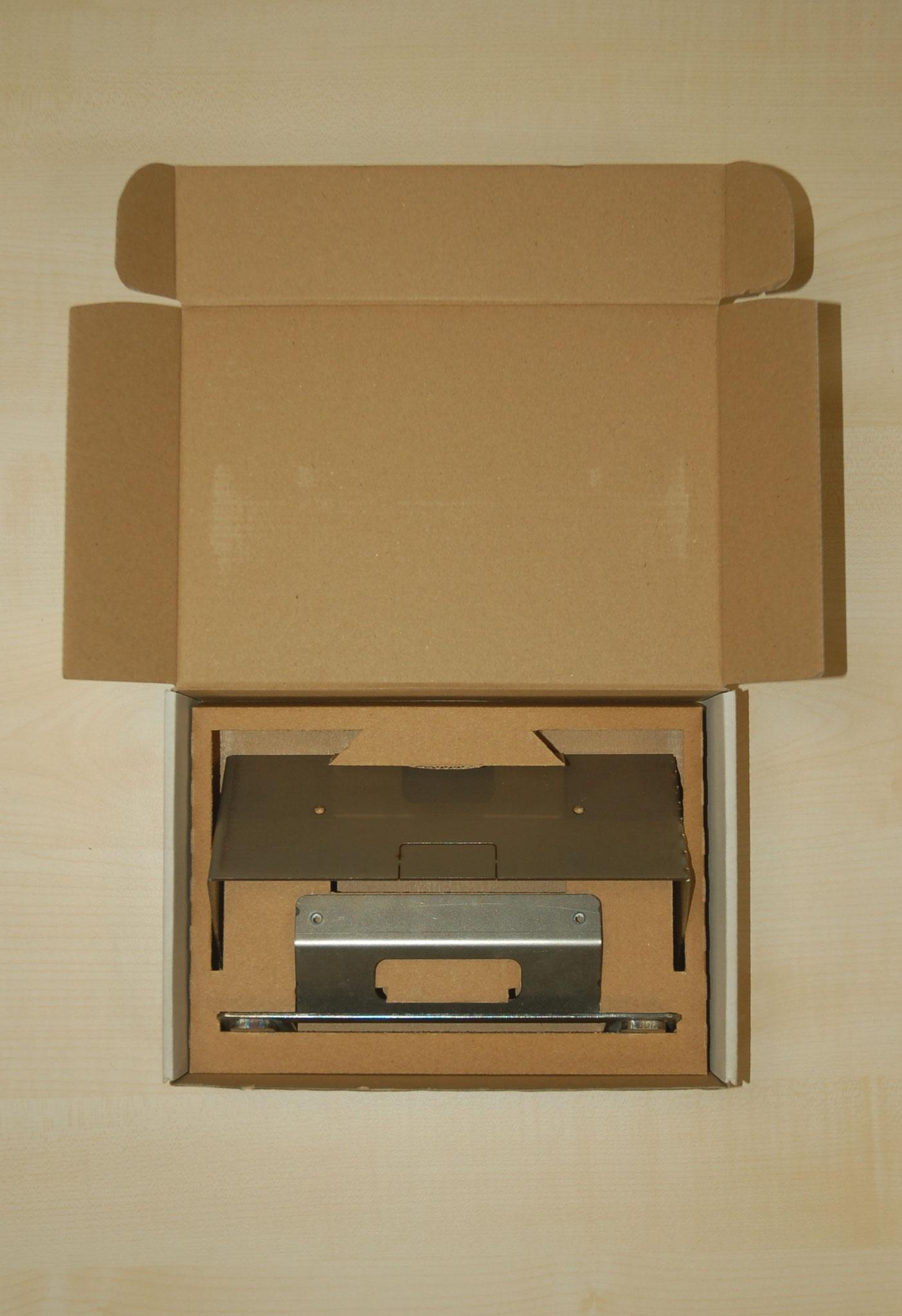Schachtel mit Papplagerung