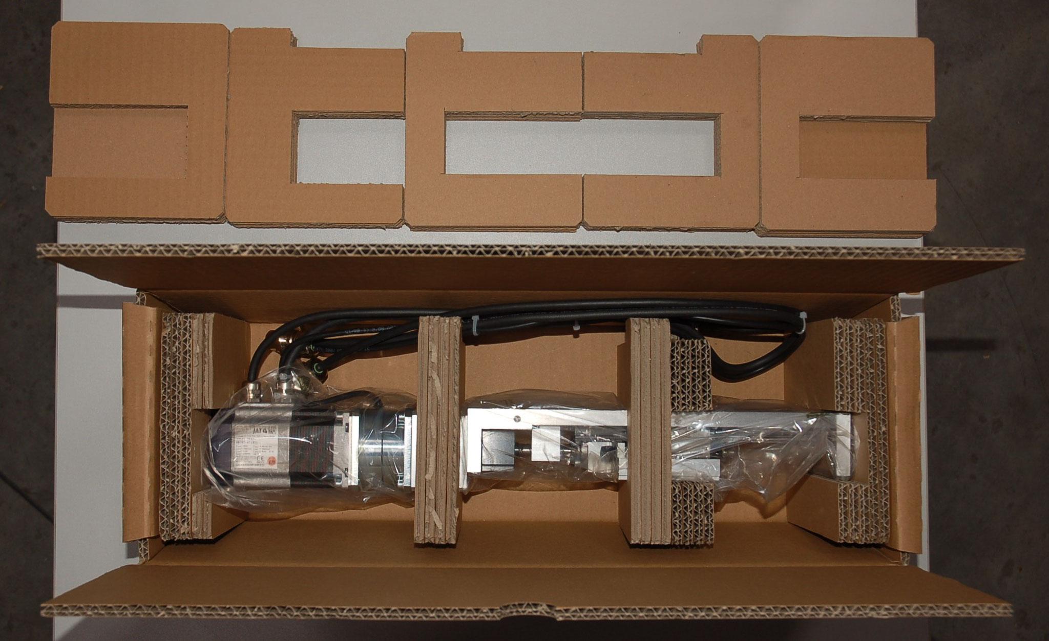 Gerätelagerungen aus Pappe