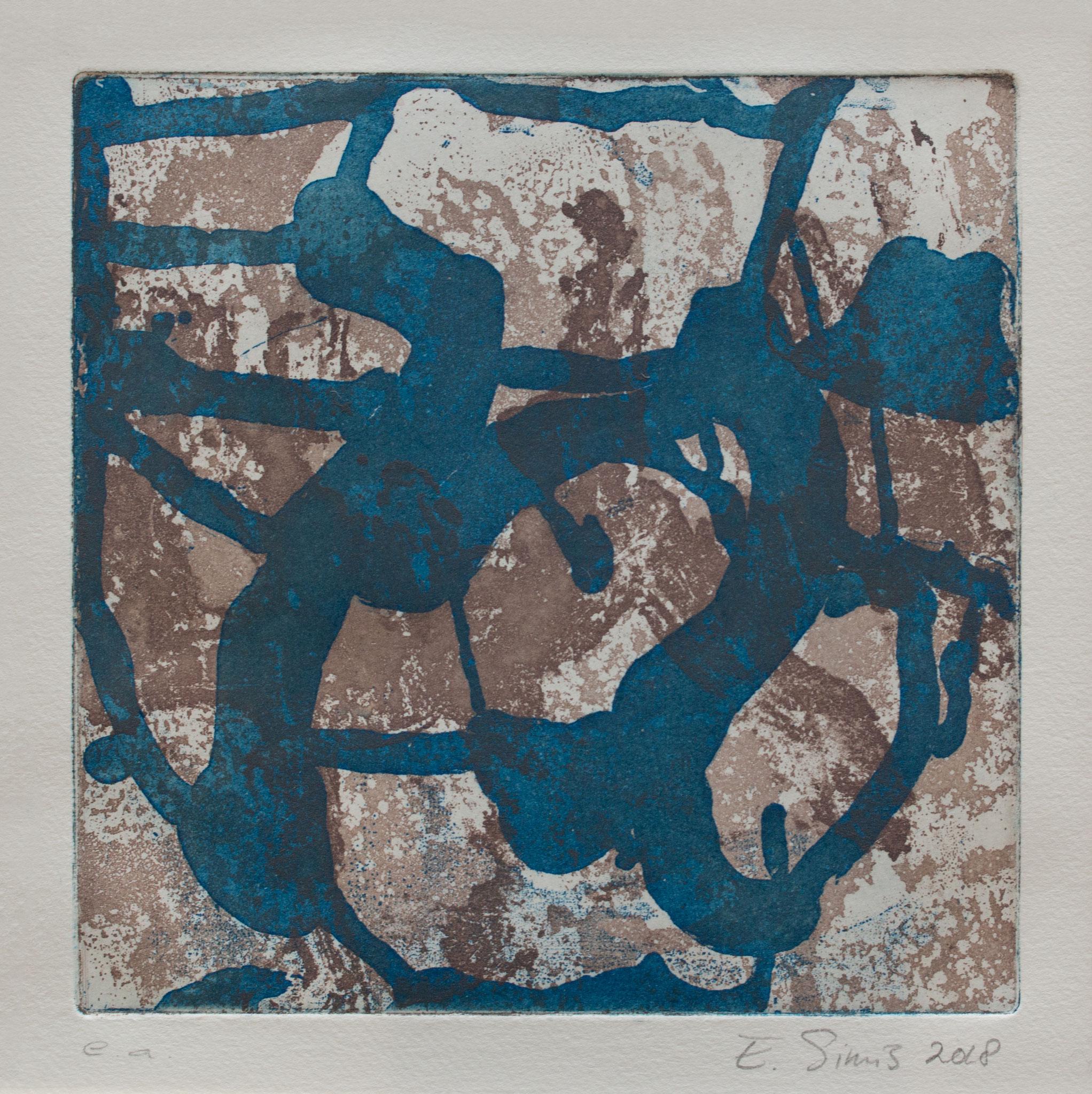 Ets, aquatint, 14x14 cm 2018