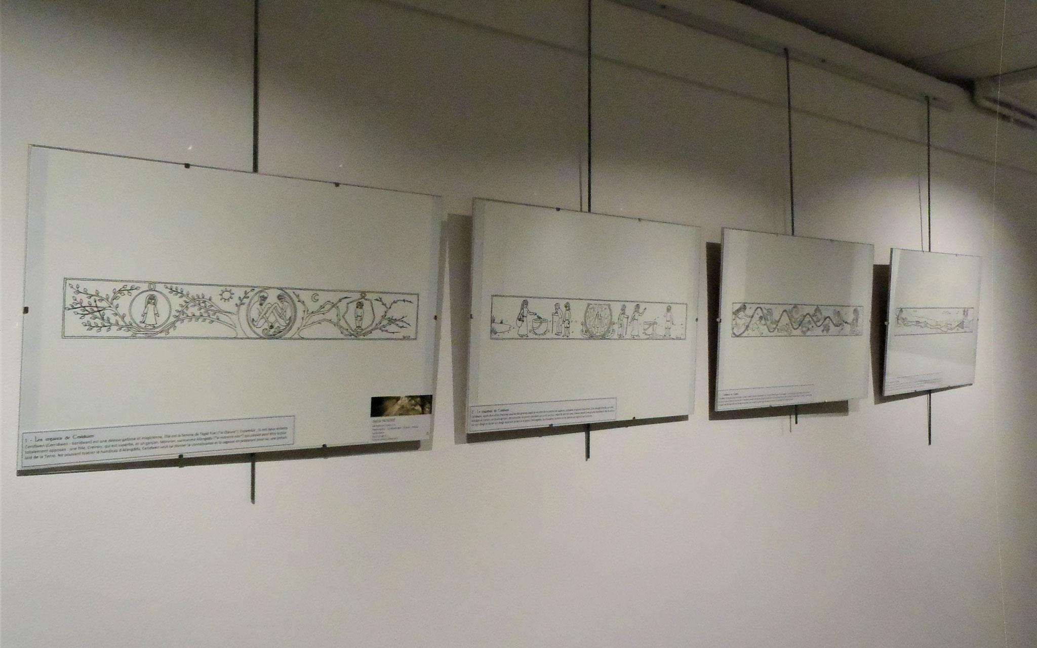 Exposition de dessins celtiques