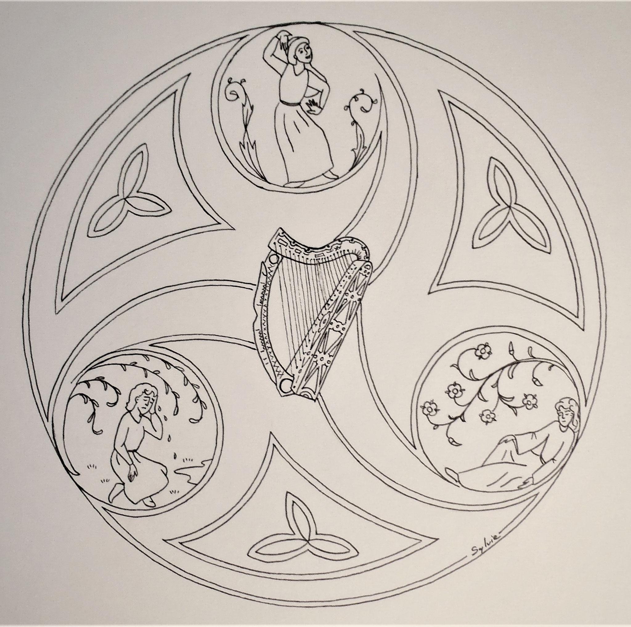 Die drei Töne der Harfe