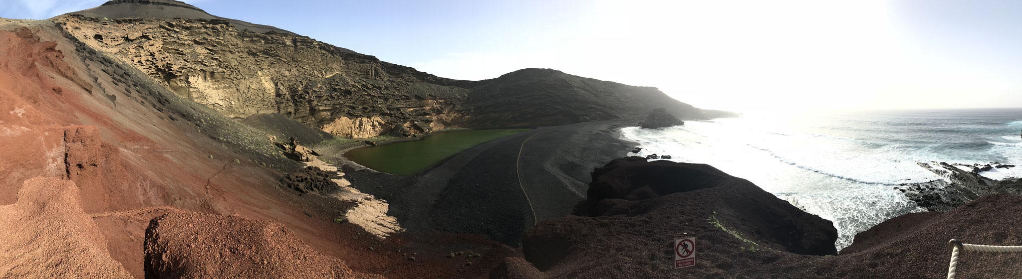 El Golfo, Lanzarote, Spain (December 2018)