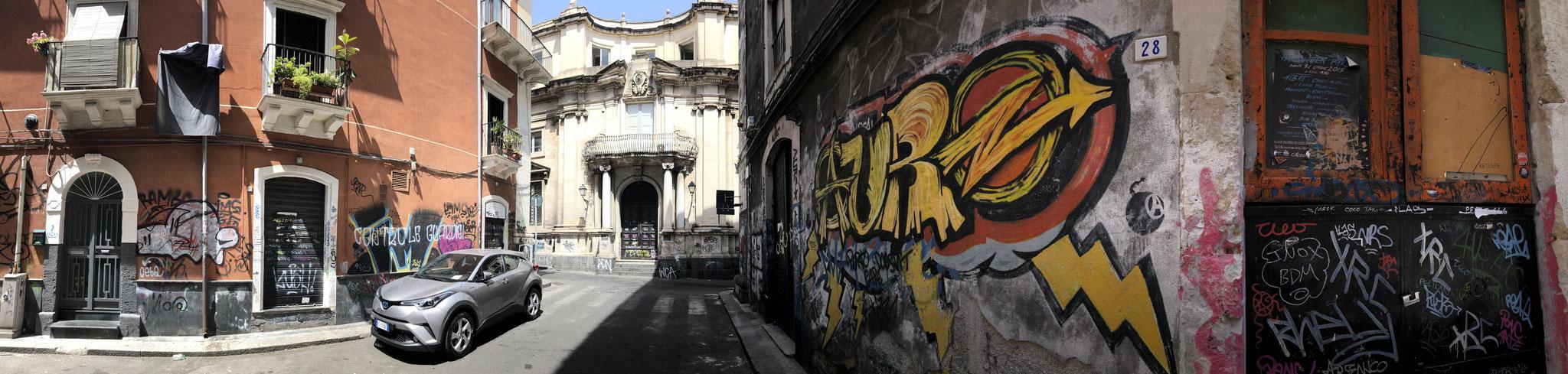 Streets of Catania, Sicily, Italy (June 2019)