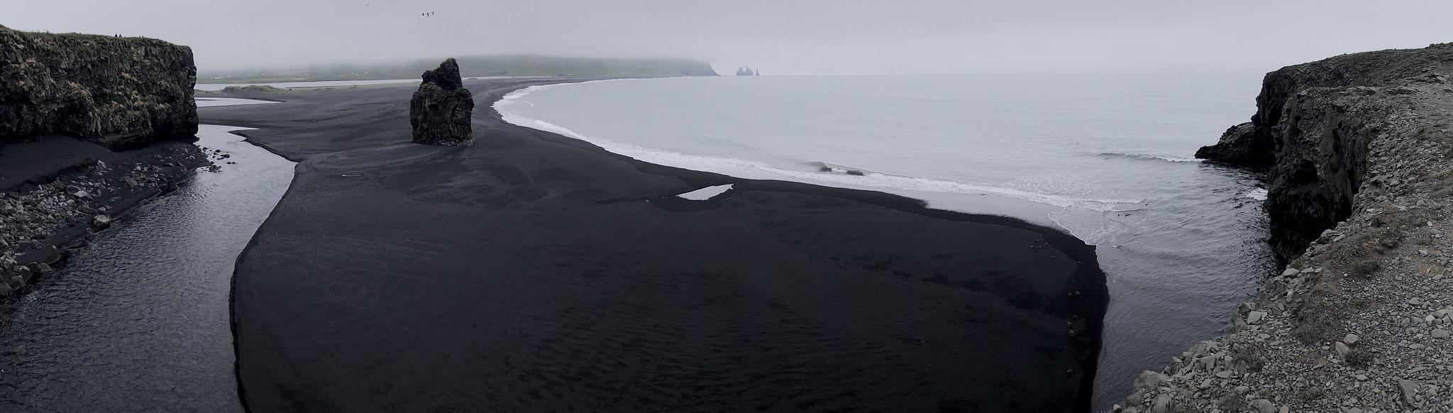 Dyrhólaey view to Reynisfjara, Iceland (July 2019)