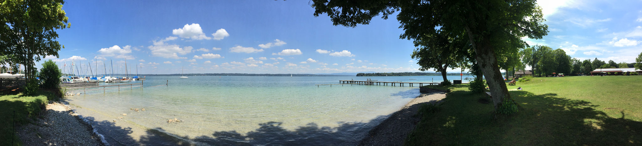 Tutzing, Starnberger See, Germany (Summer 2018)