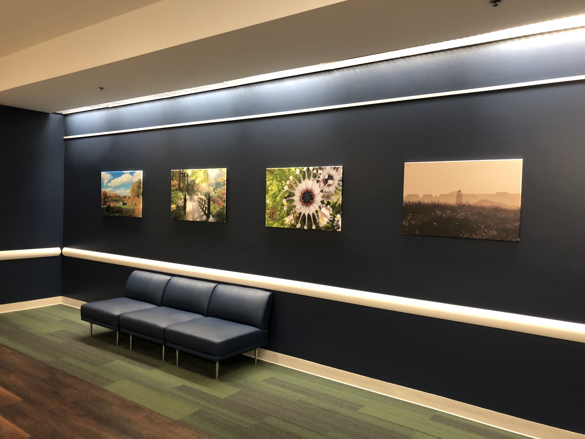 Winner's picture - permanent exhibition in the entrance hall of my company in Portland