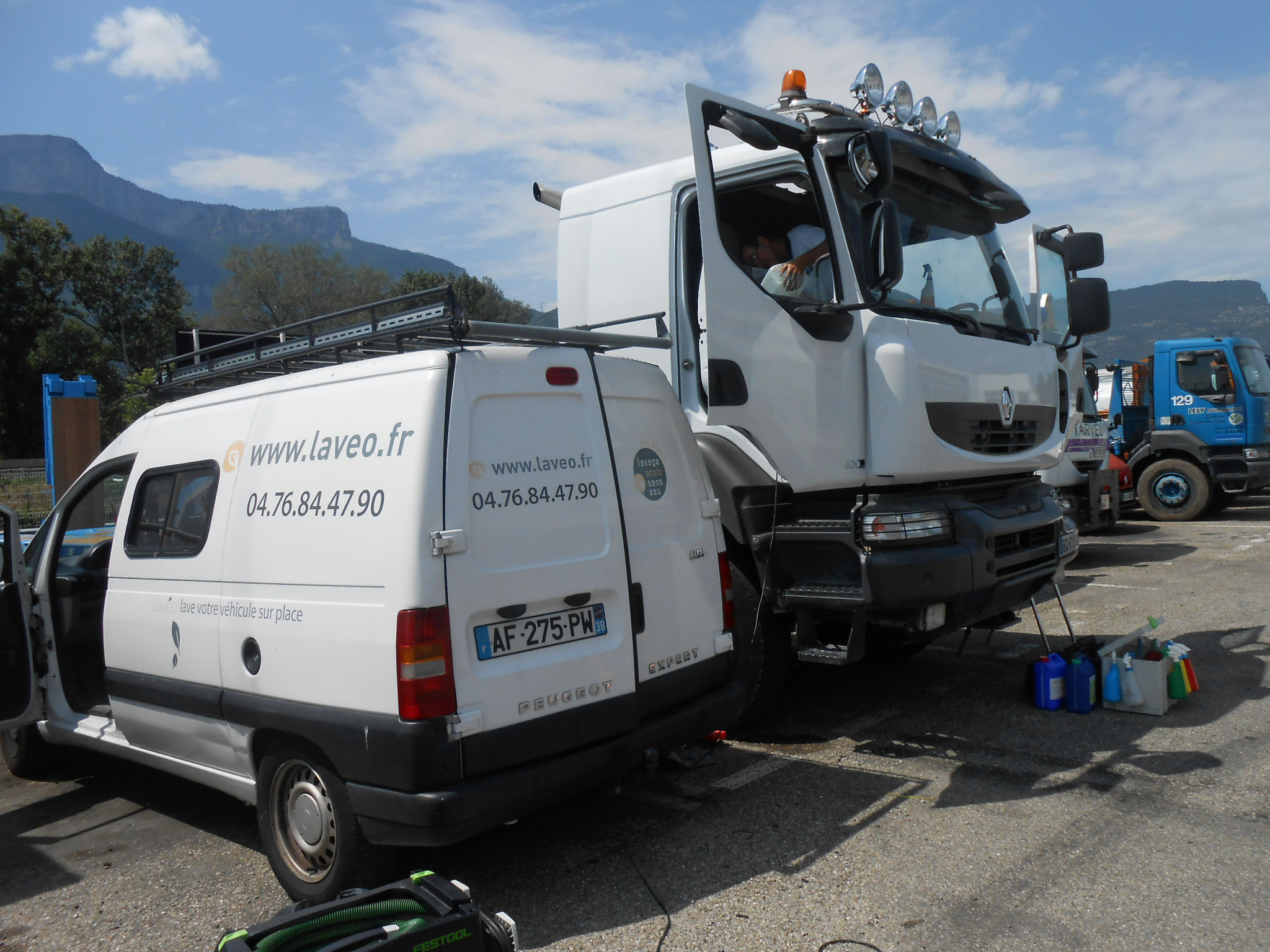 Nettoyage cabines Truck