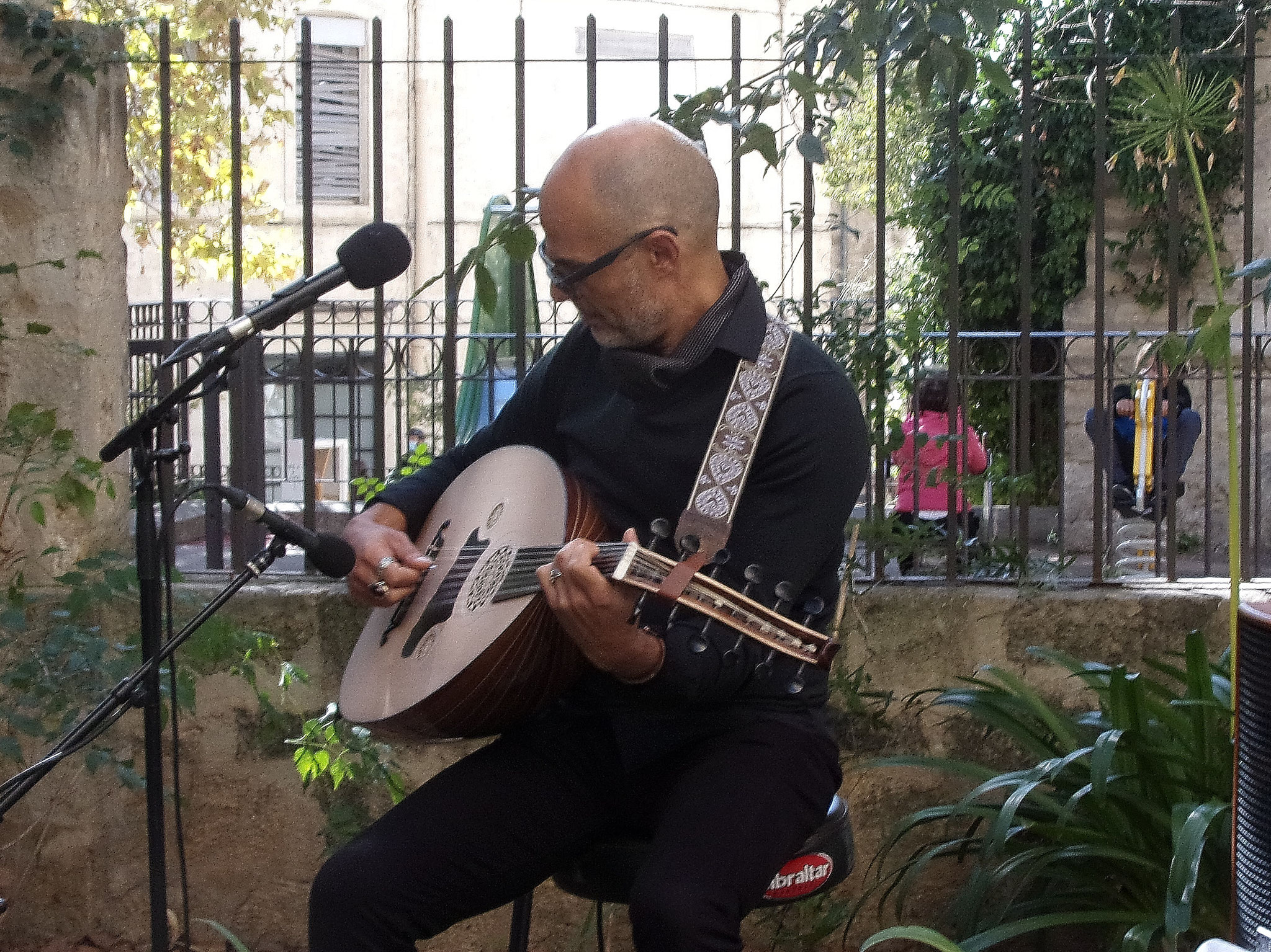 Montpellier - Quartier st Roch-Ecusson - Ihab Radwan - Internationales guitare - 09 2020- photo Jean-Marie Quiesse