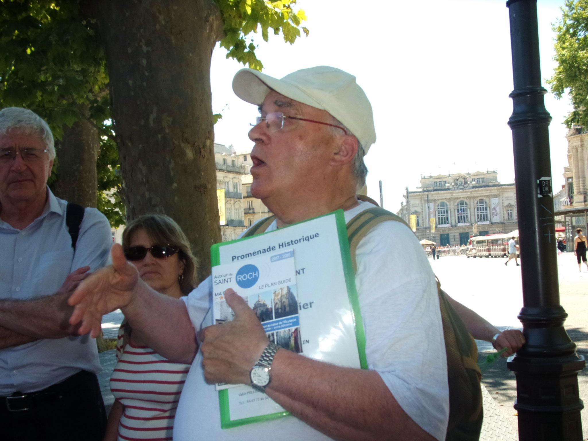 Comité de quartier st Roch-Ecusson -10 06 2017 -Valdo Pellegrin visite de l'Ecusson- photo JM Quiesse