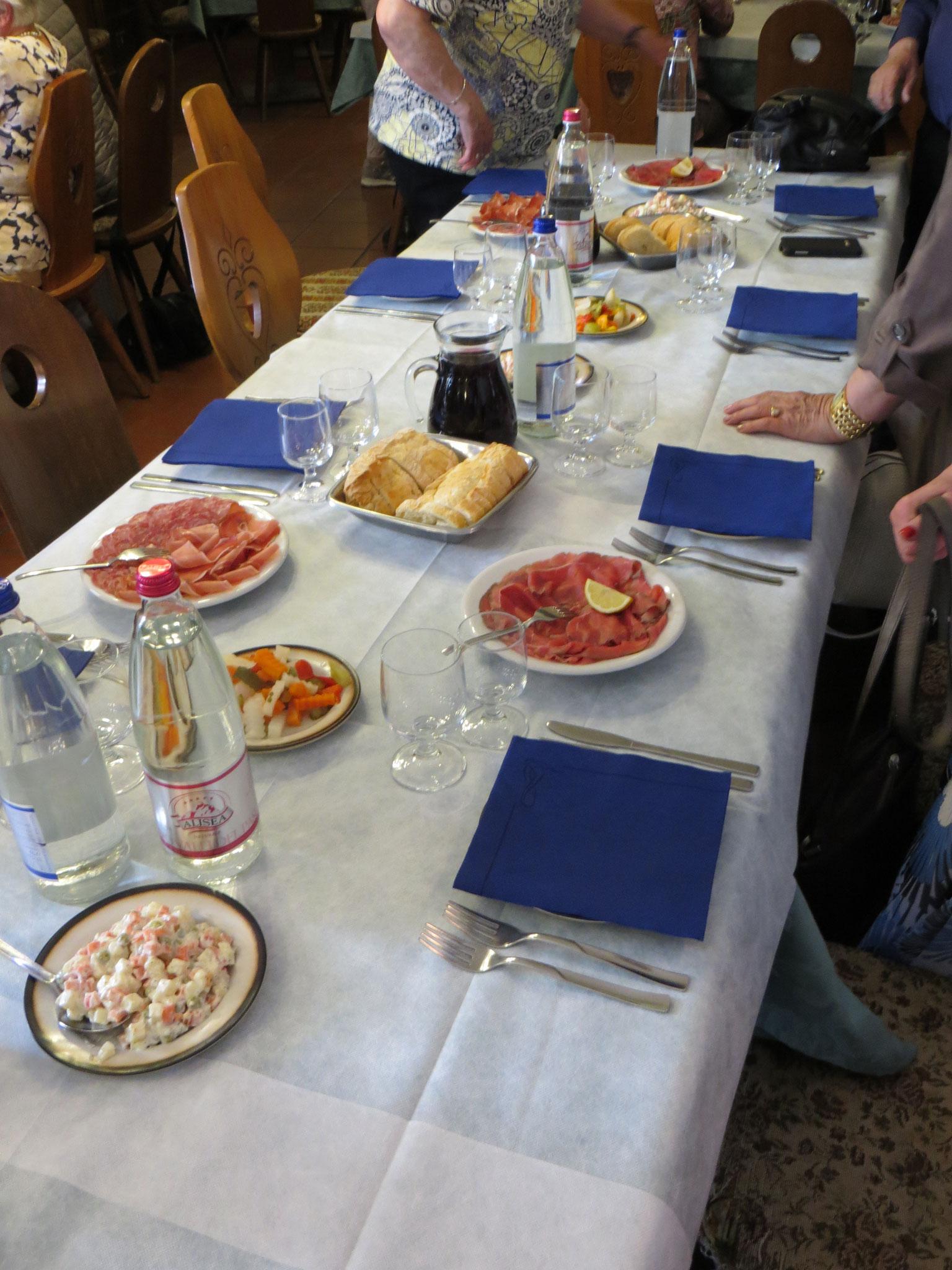 Impressionen vom Mittagstisch