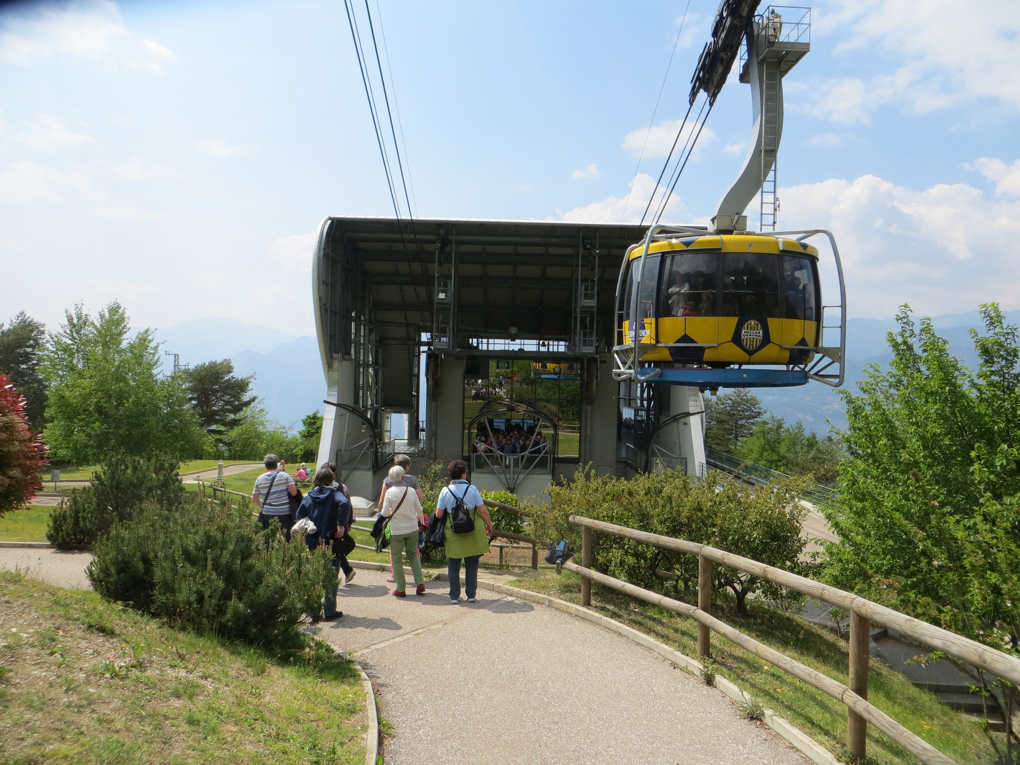 """Seilbahn-Mittelstaion """" Monte Baldo"""""""