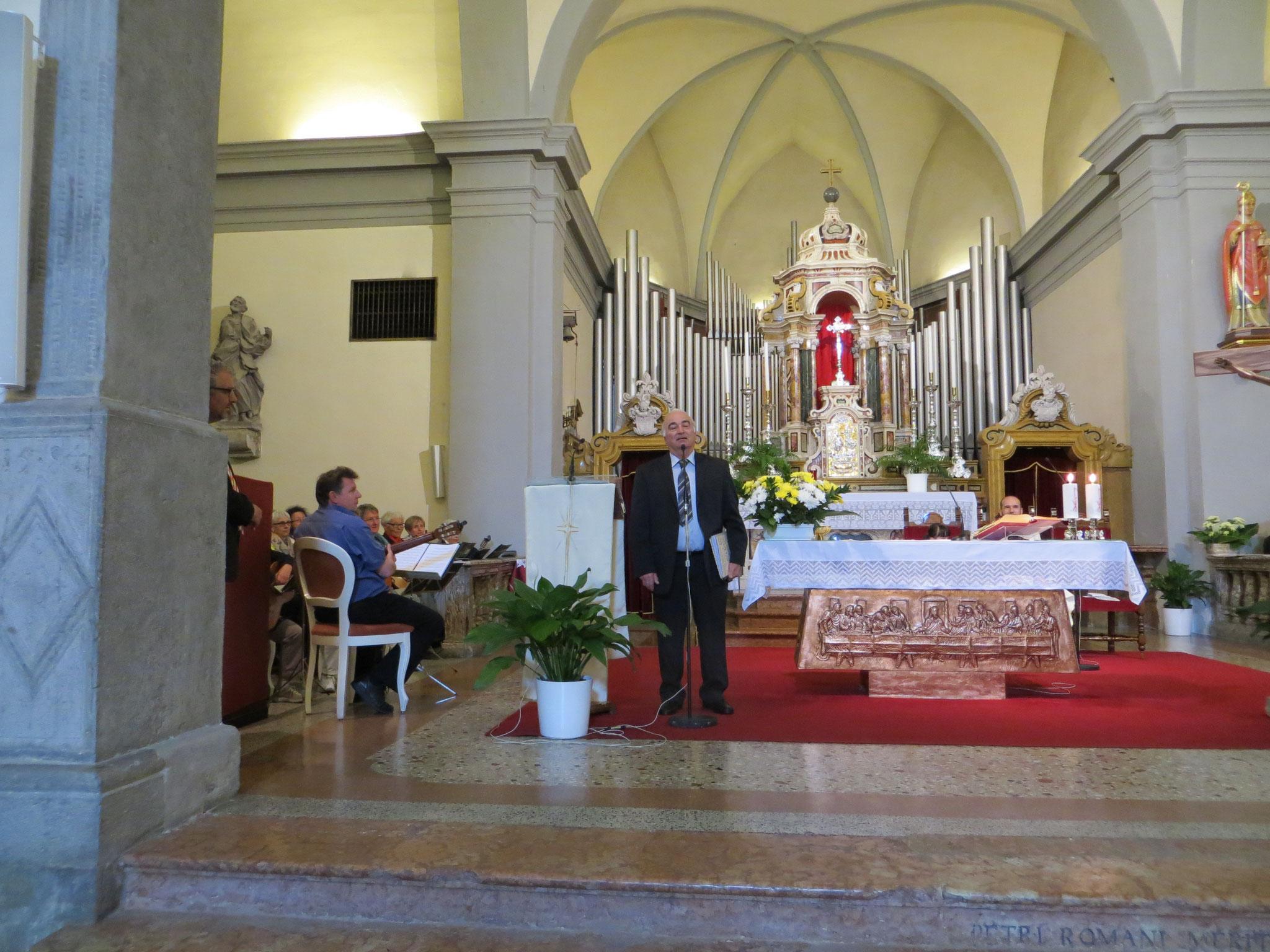 Ansprache des Vizepräsidenten der DIG Luigi Buonandonna