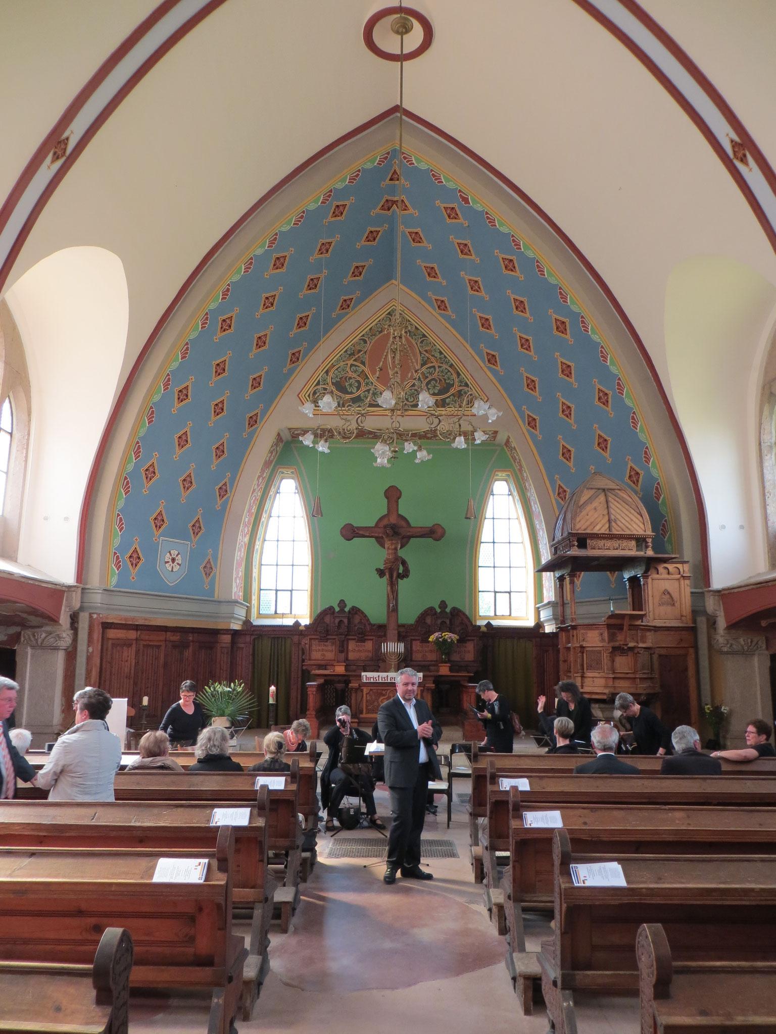 Kirche in Arco - 1. Konzert