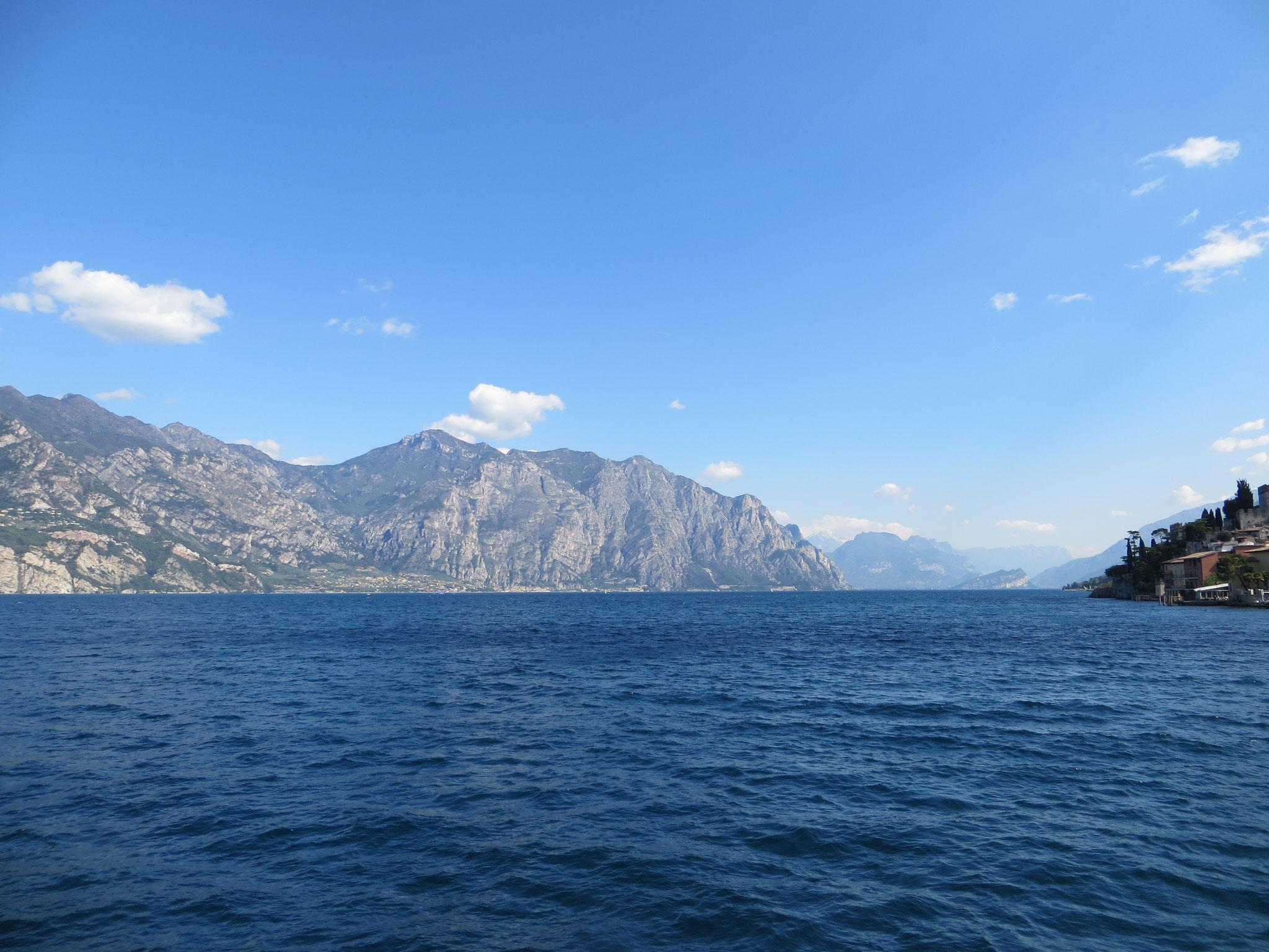 Blick nach Norden in Richtung Riva