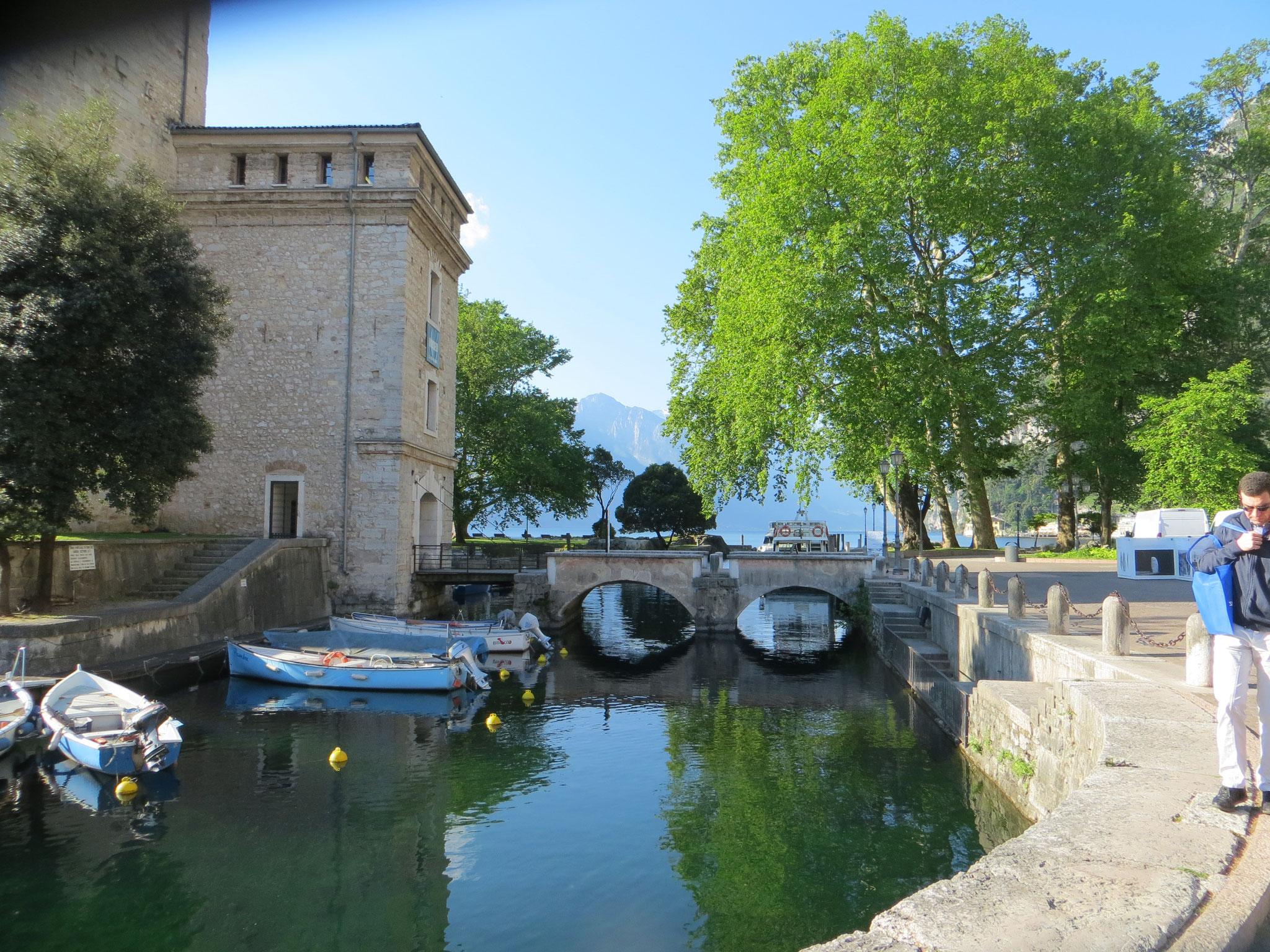 Hafen von Riva