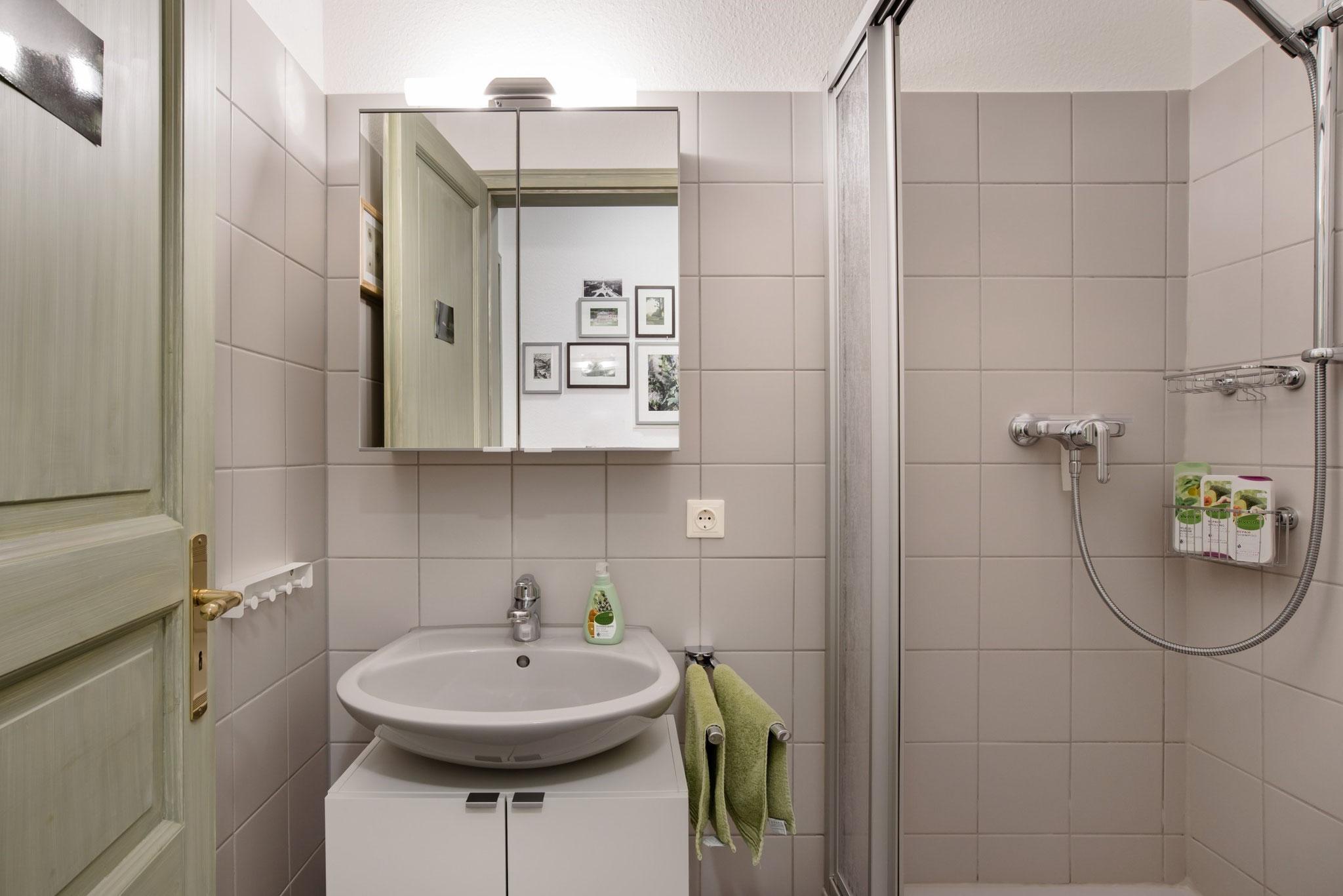 Duschbad mit Fön ...