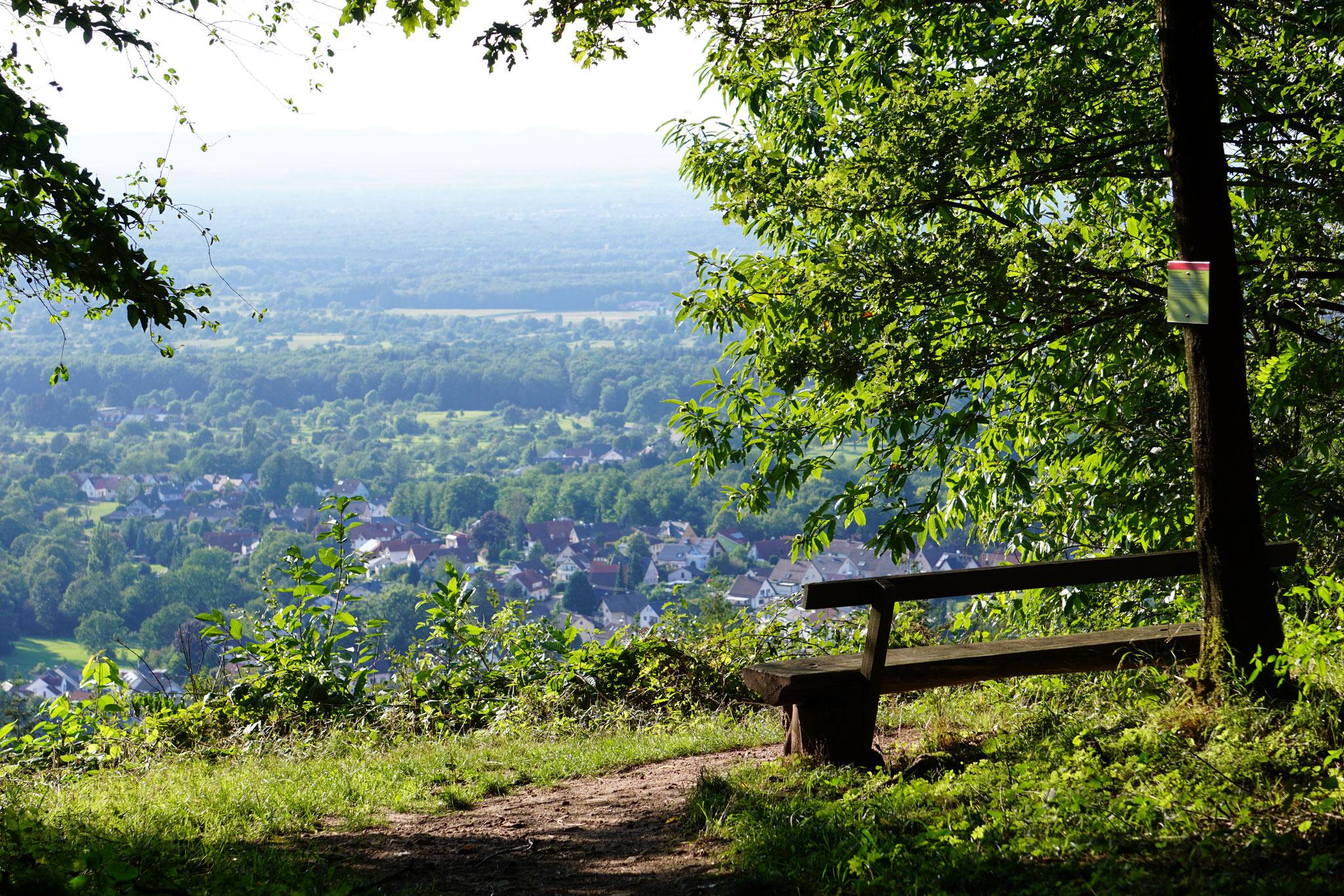 Aussichtspunkt am Eichelberg bei Winkel