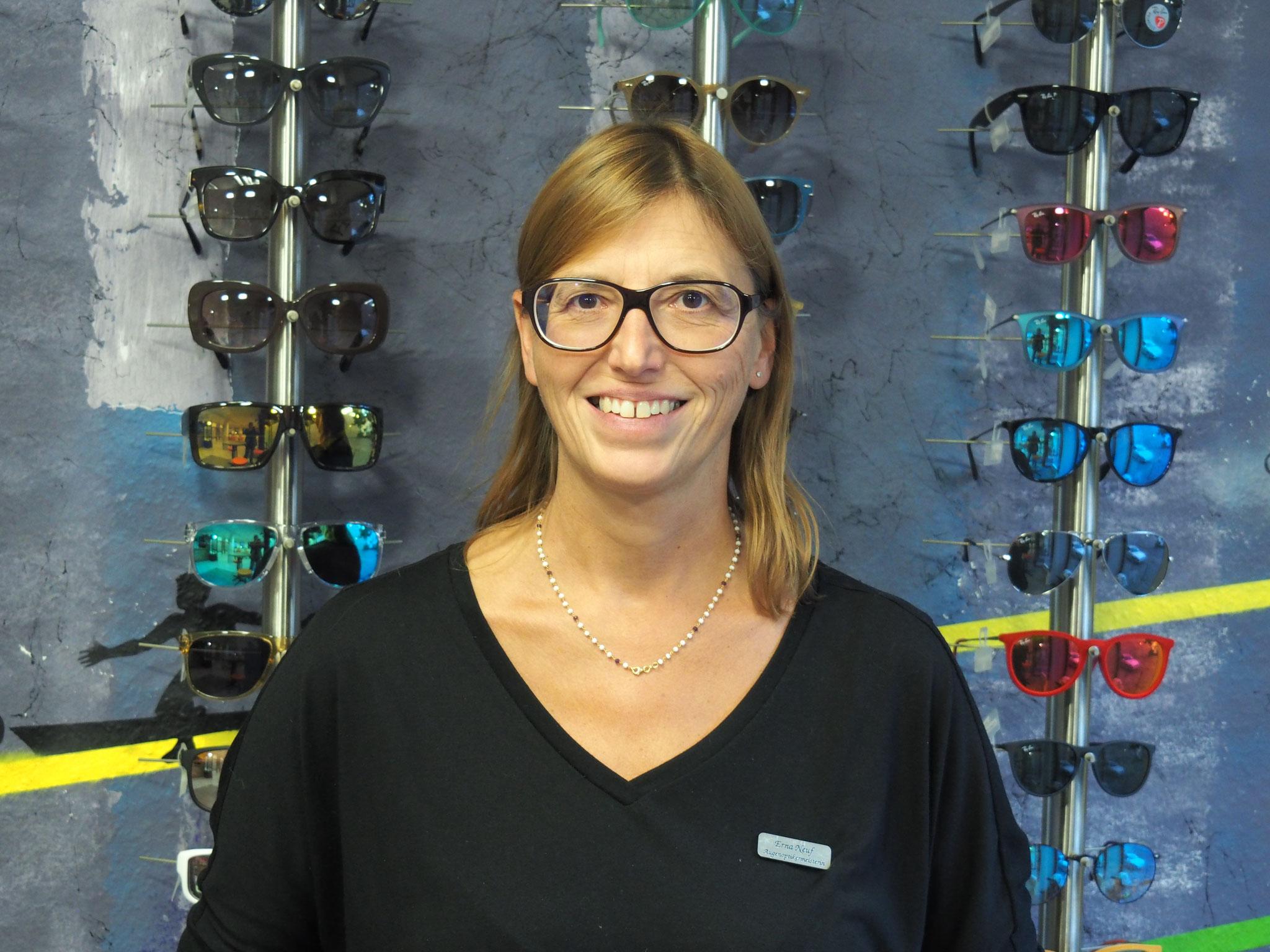 Unsere Augenoptikermeisterin