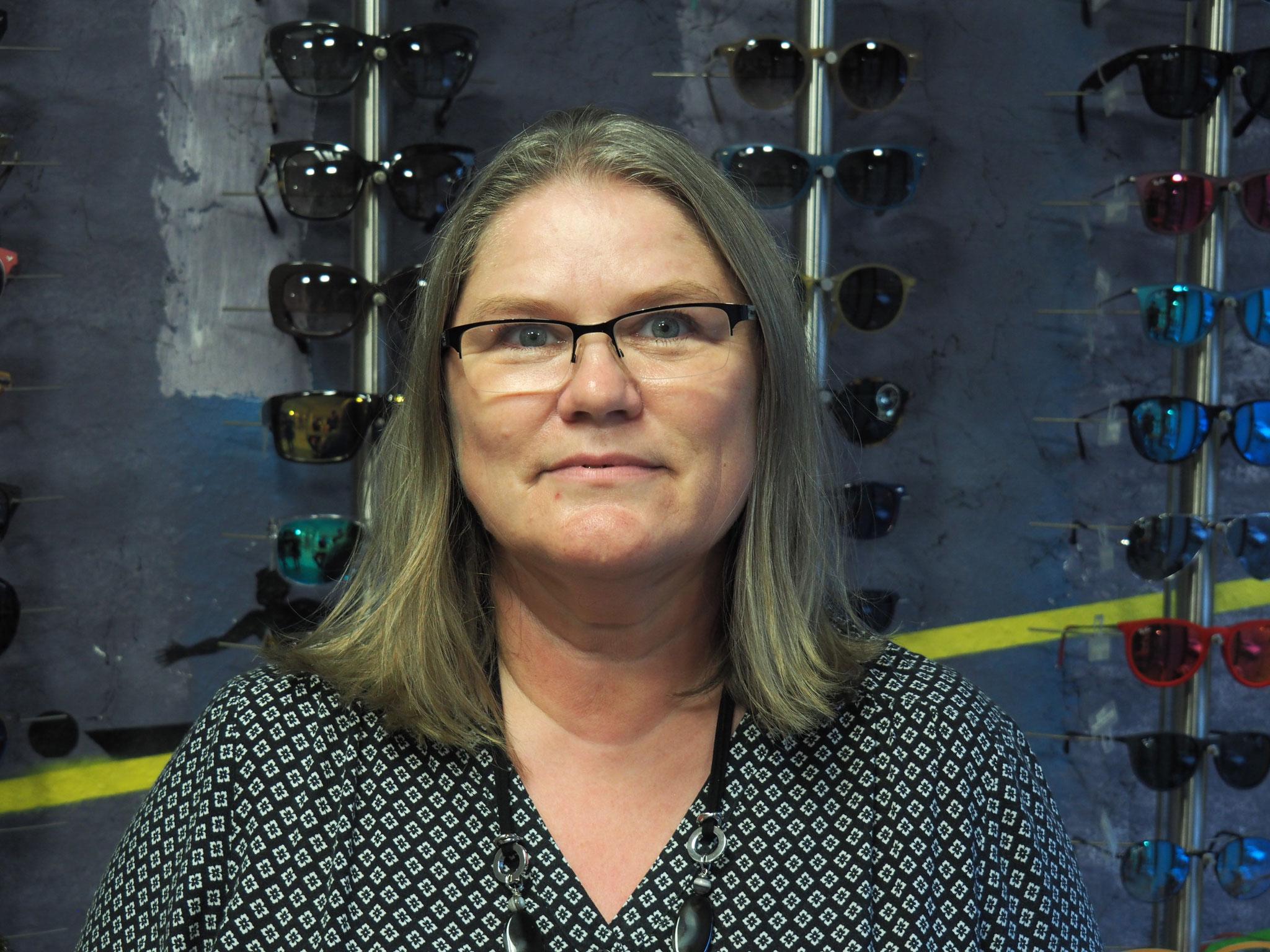 Unsere Optikerassistentin
