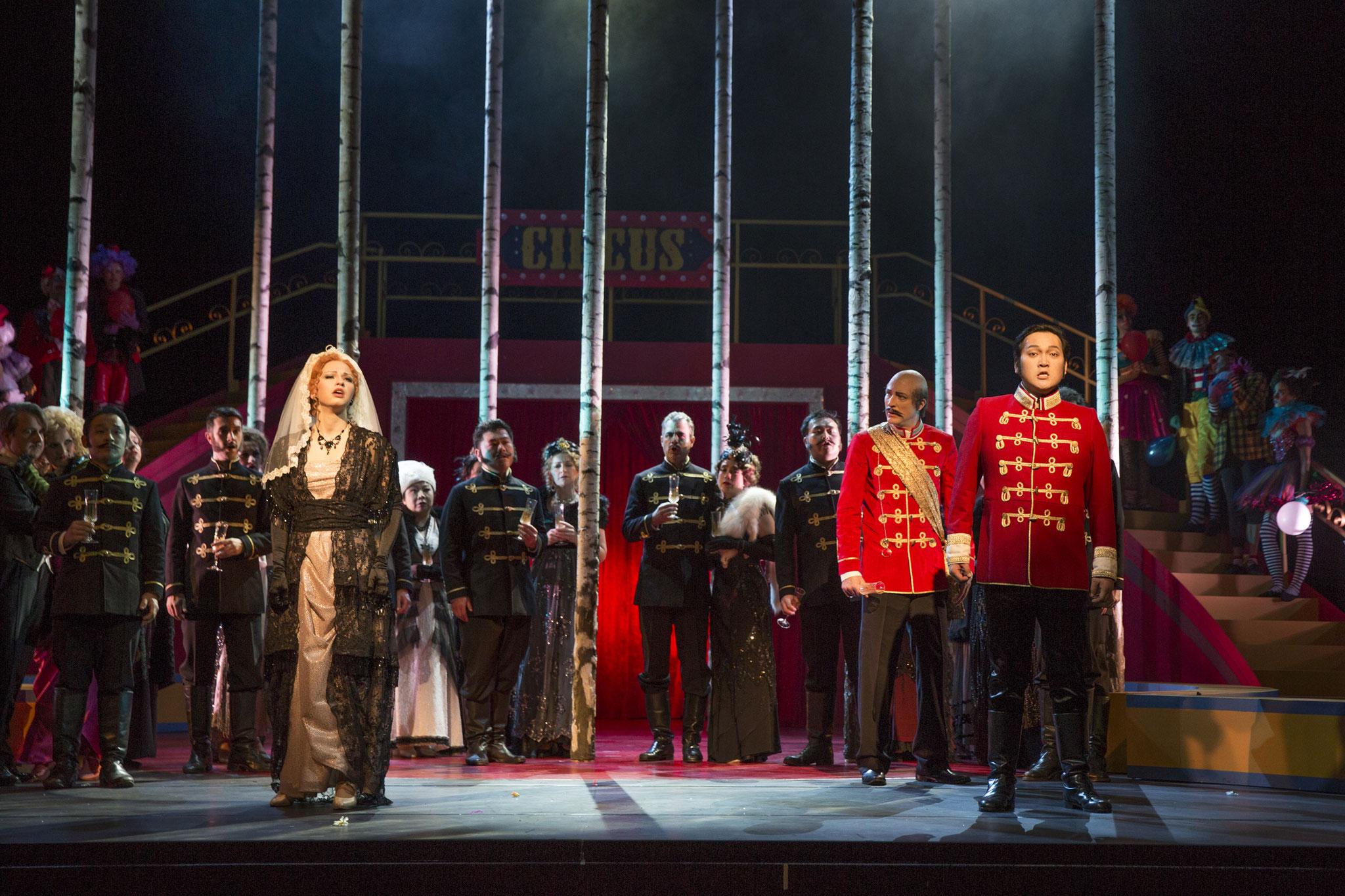 Die Zirkusprinzessin (Fürstin Fedora Palinska), Foto: Harald Dietz