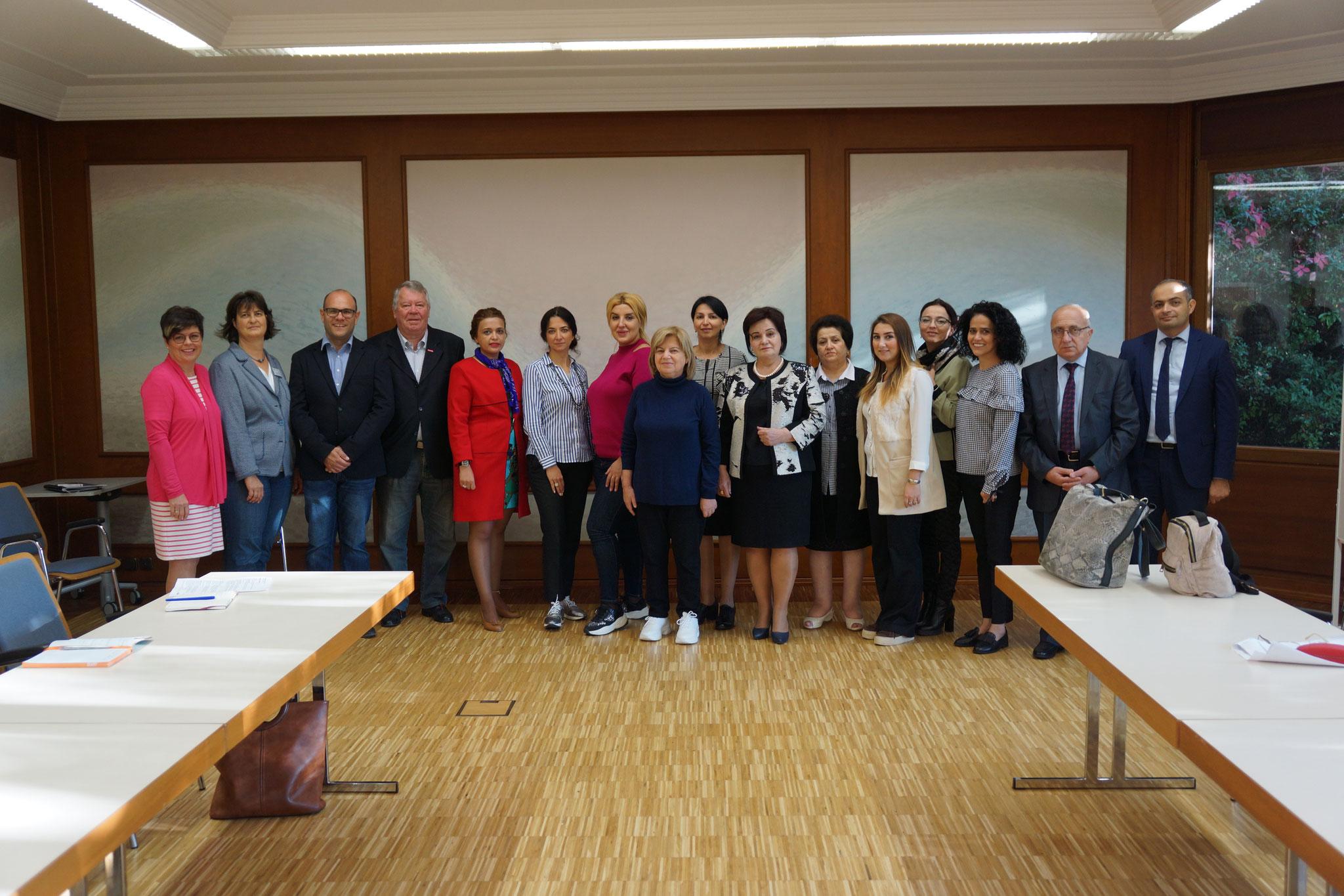 10-2018 Aserbaidschanische Reisegruppe bei der Kreishandwerkerschaft B-B