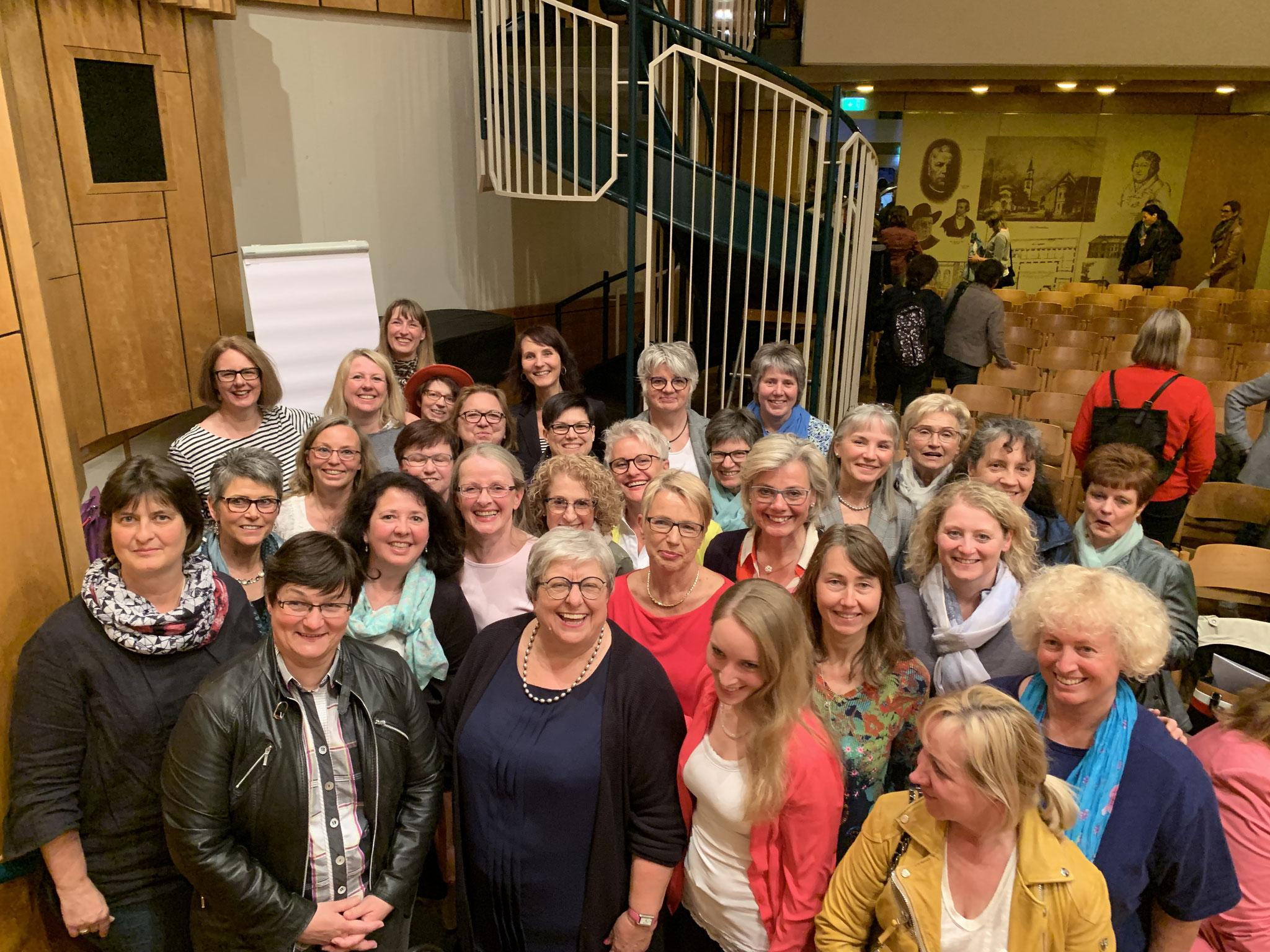 05-2019 ufh-Damen waren mit über 60 Personen vertreten