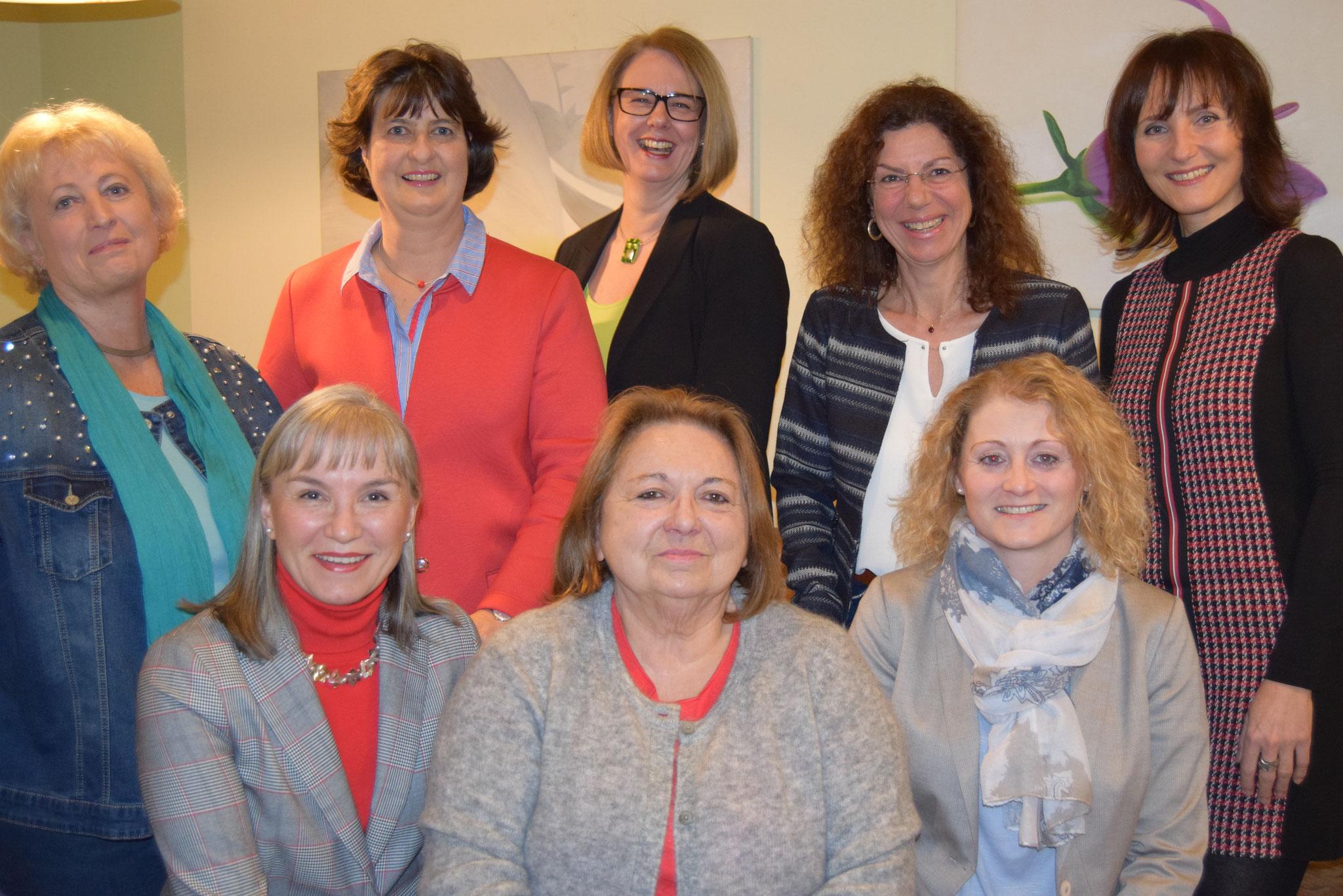 01-2019 das neu gewählte Vorstandsteam