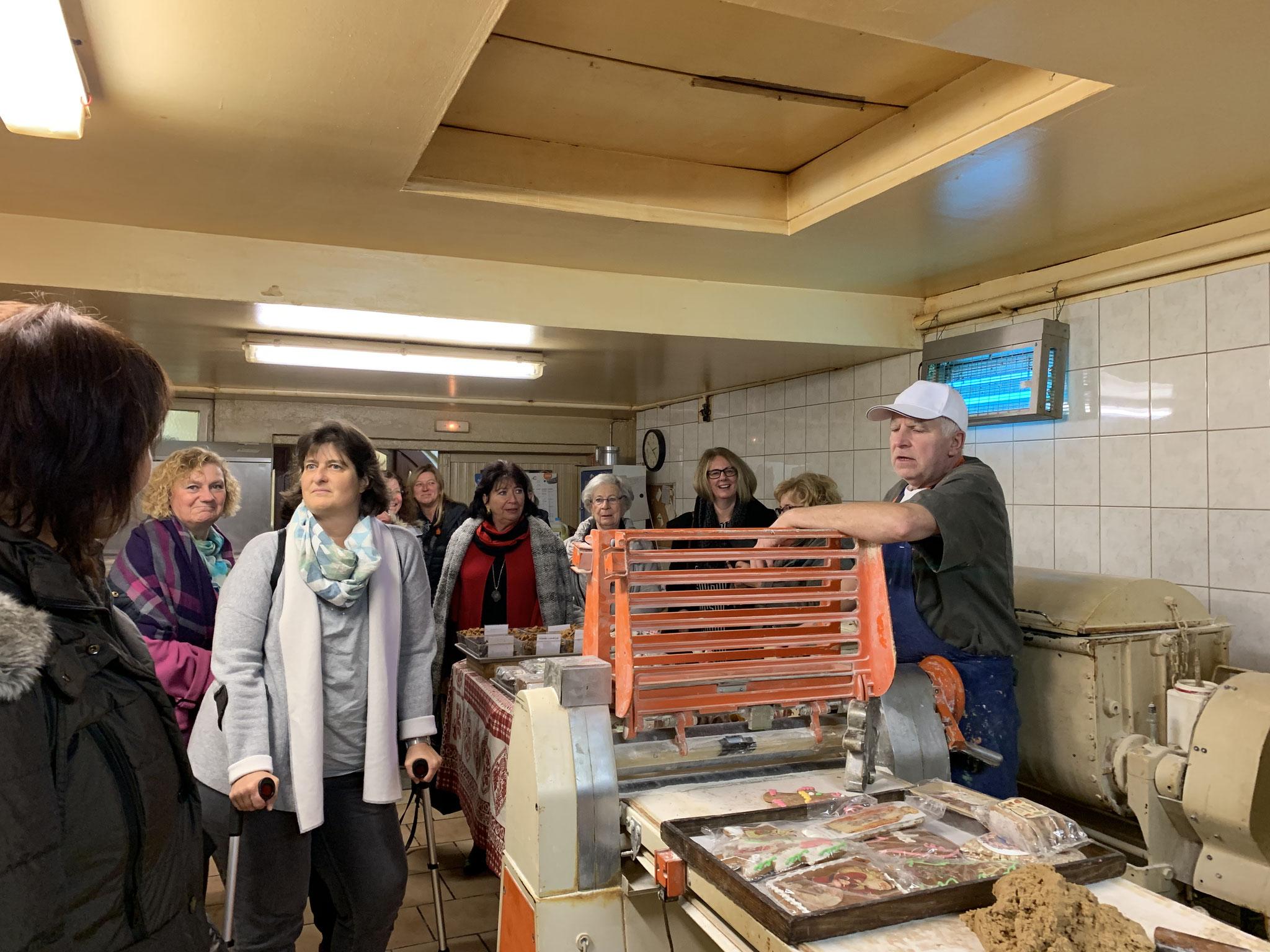 11-2018 Ausflug ins Elsass - Besichtigung Lebkuchenbäckerei Lips