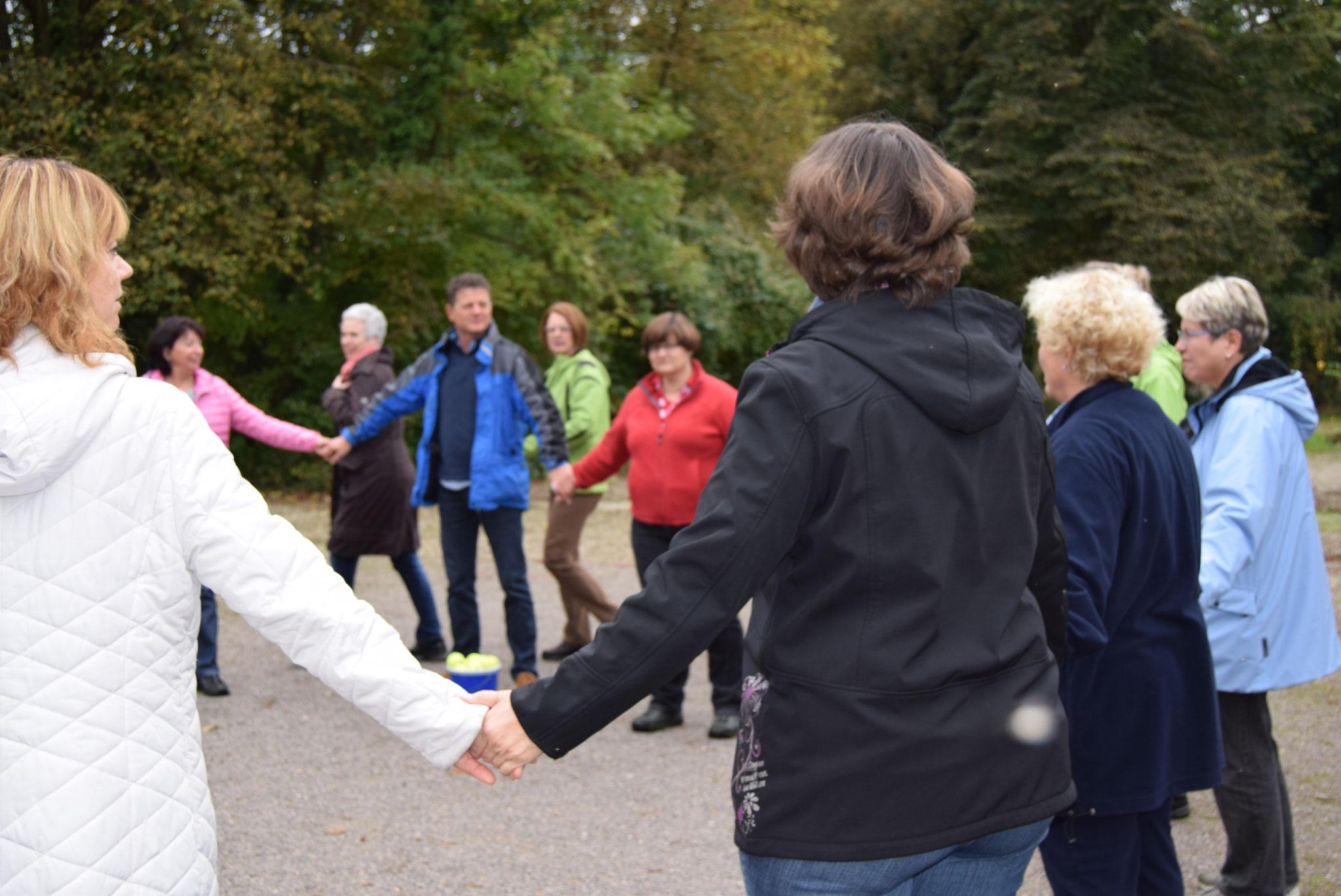 10-16 Besprechung für Outdoorübungen