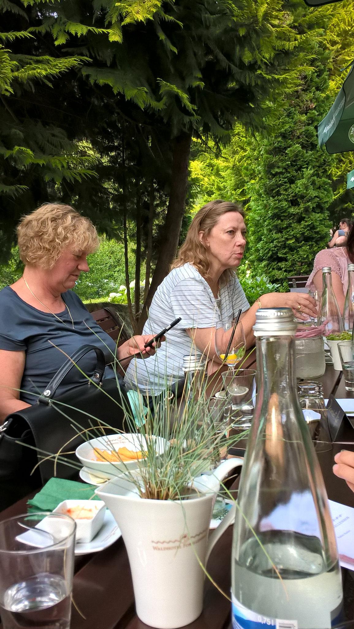 08-17 Stammtisch im Waldhotel Forellenhof Baden-Baden