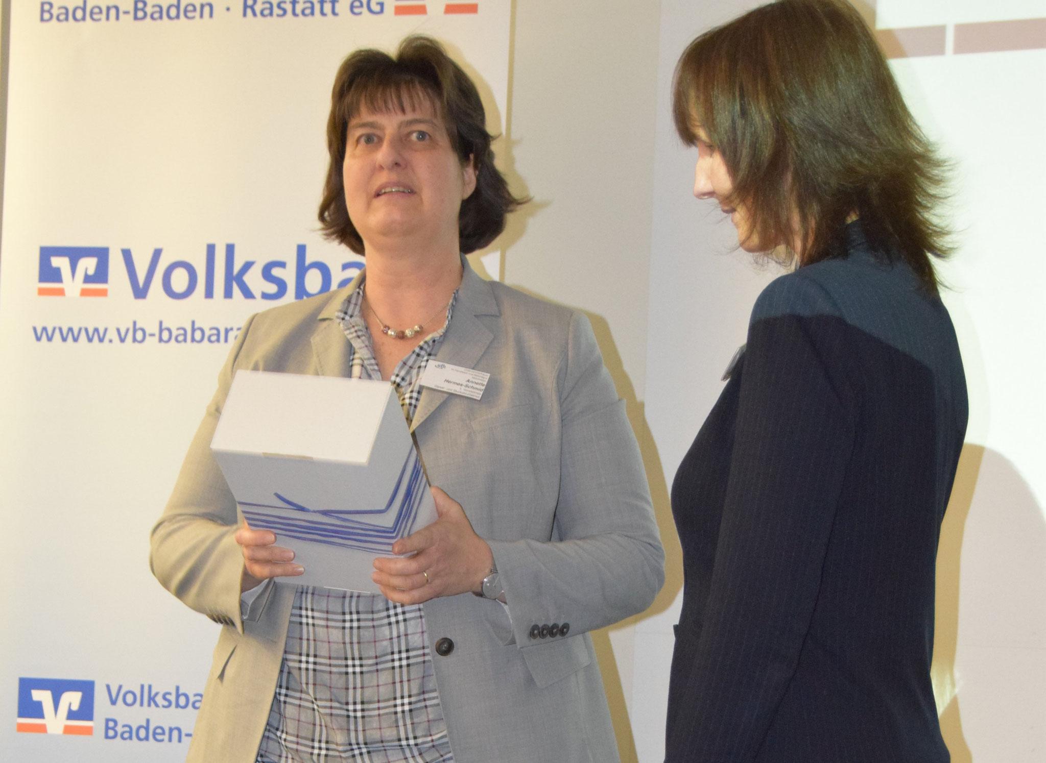 03-2019 Gratulation an  Sibylle Melcher für den hervorragenden Impulsvortrag