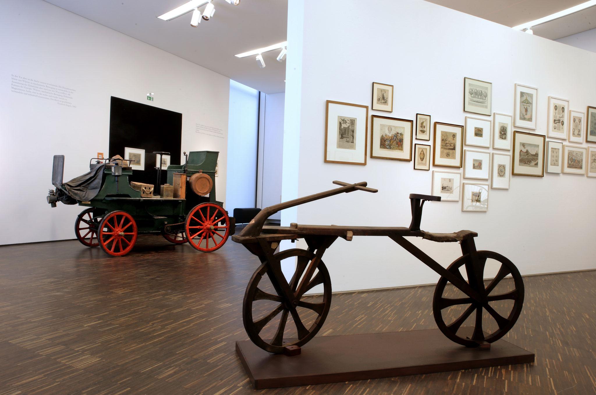 Museum LA8 Übergang vom Gerät zur Maschine (Foto Thomas Viering)