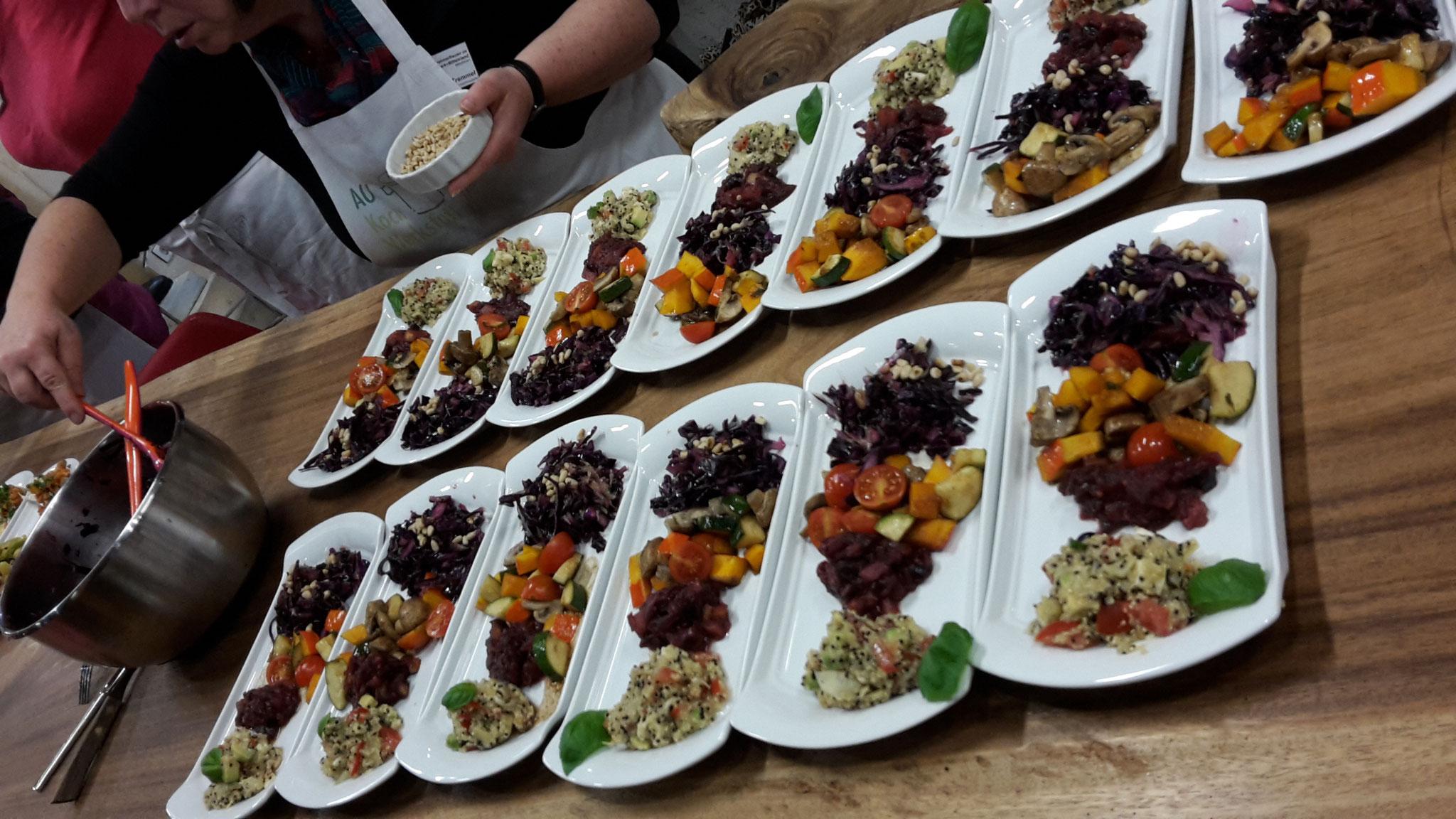 11-17 Basisch Kochen - nicht nur gesund: es schmeckte auch erstklassig