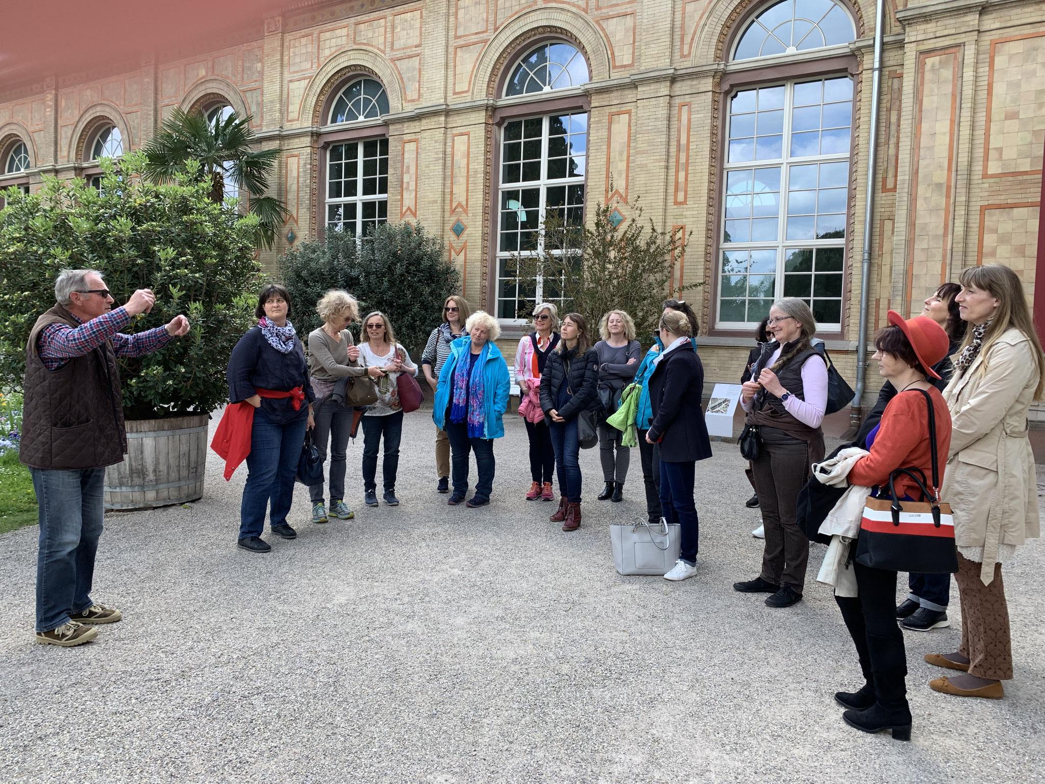 05-2019 Führung durch den Botanischen Garten Karlsruhe