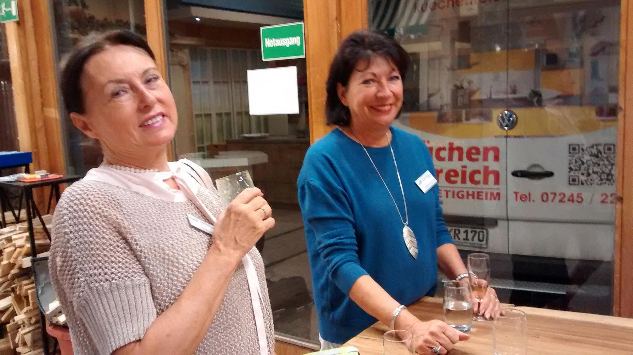 11-17 Basisch Kochen - begeisterte Teilnehmerinnen