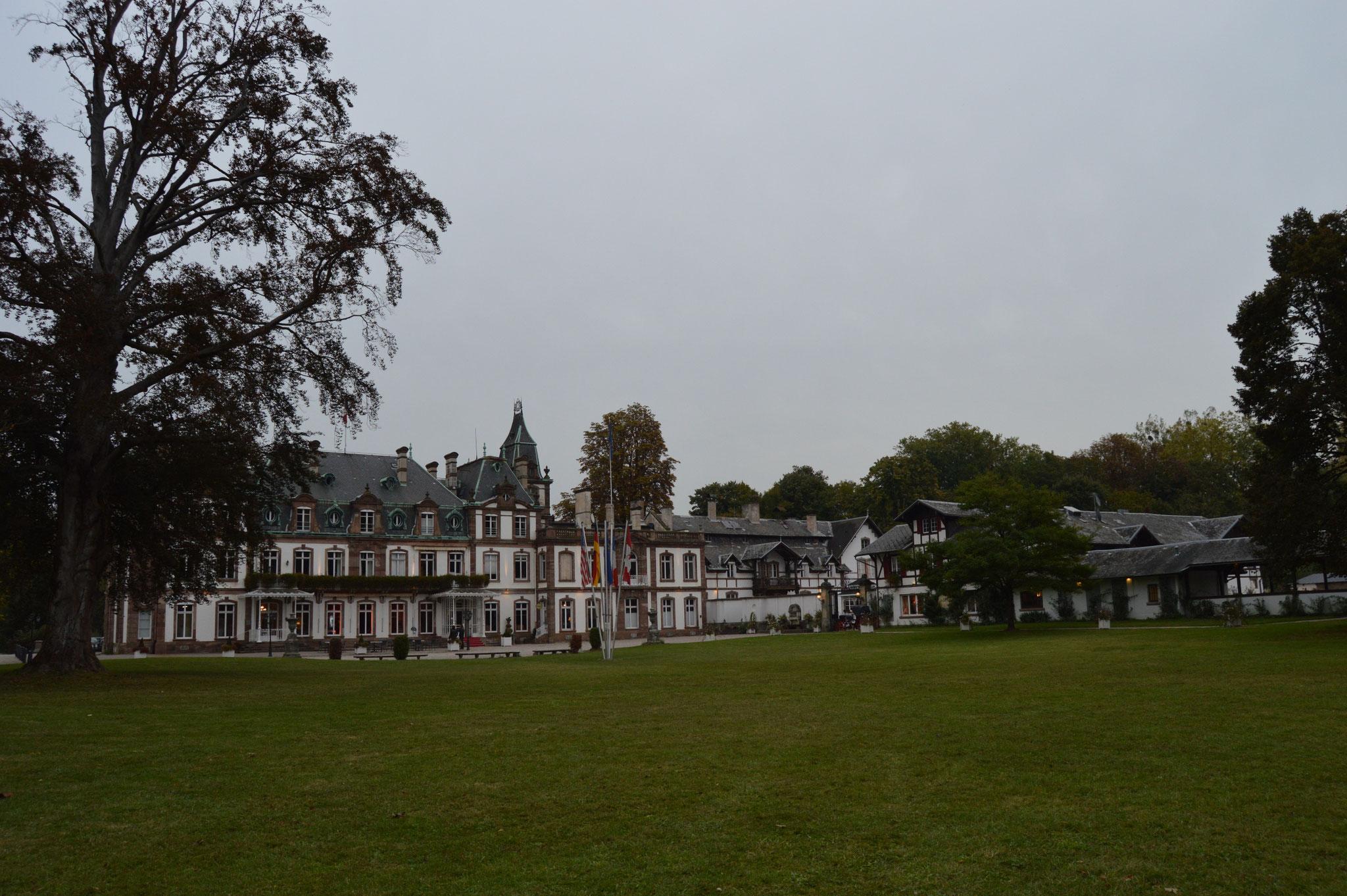 10-16 Strasbourg,Chateau de Pourtalès