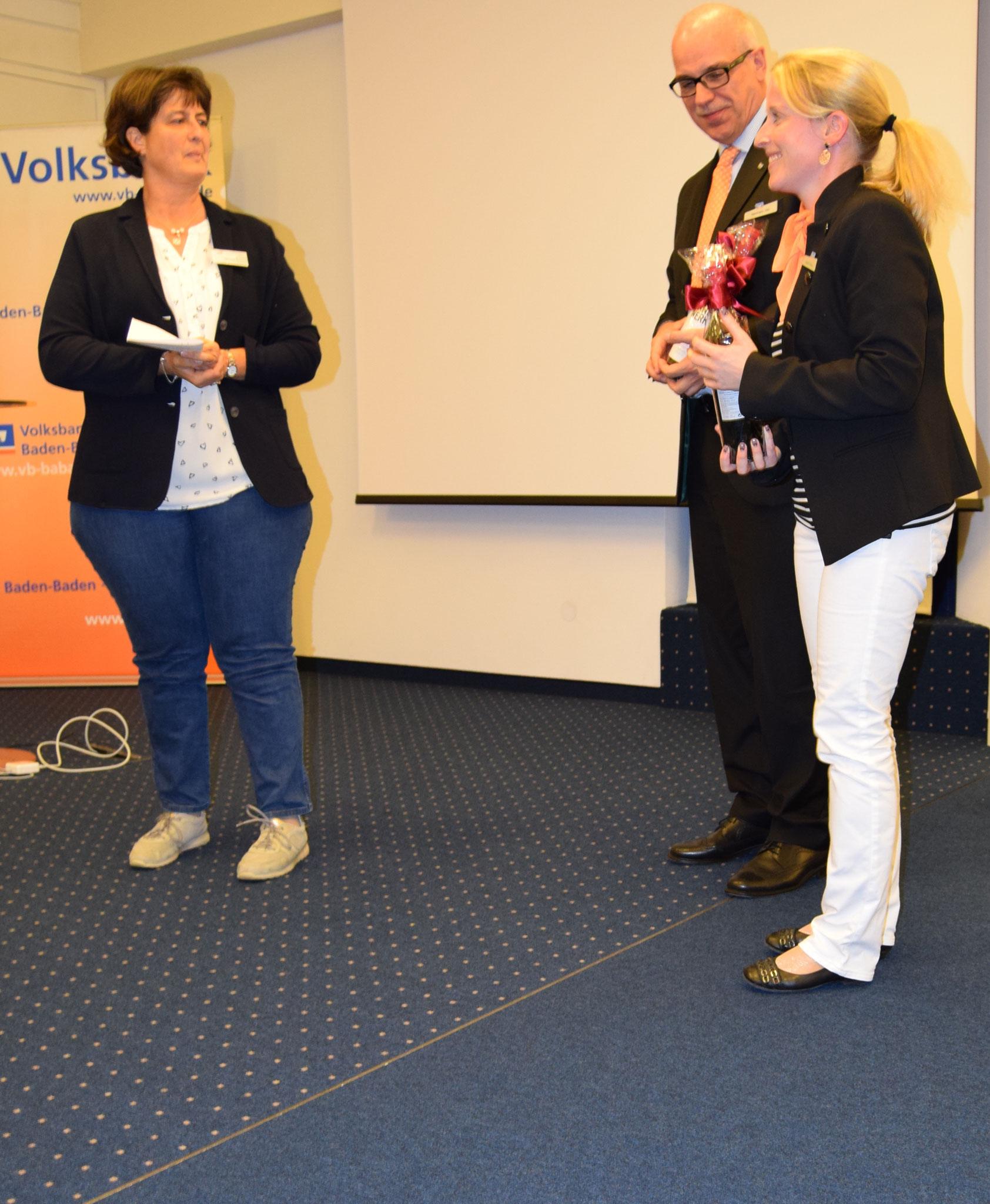 09-17 Dank durch Annette Hermes-Schmid an Fr. Fischer u.Herrn Veit, Voba