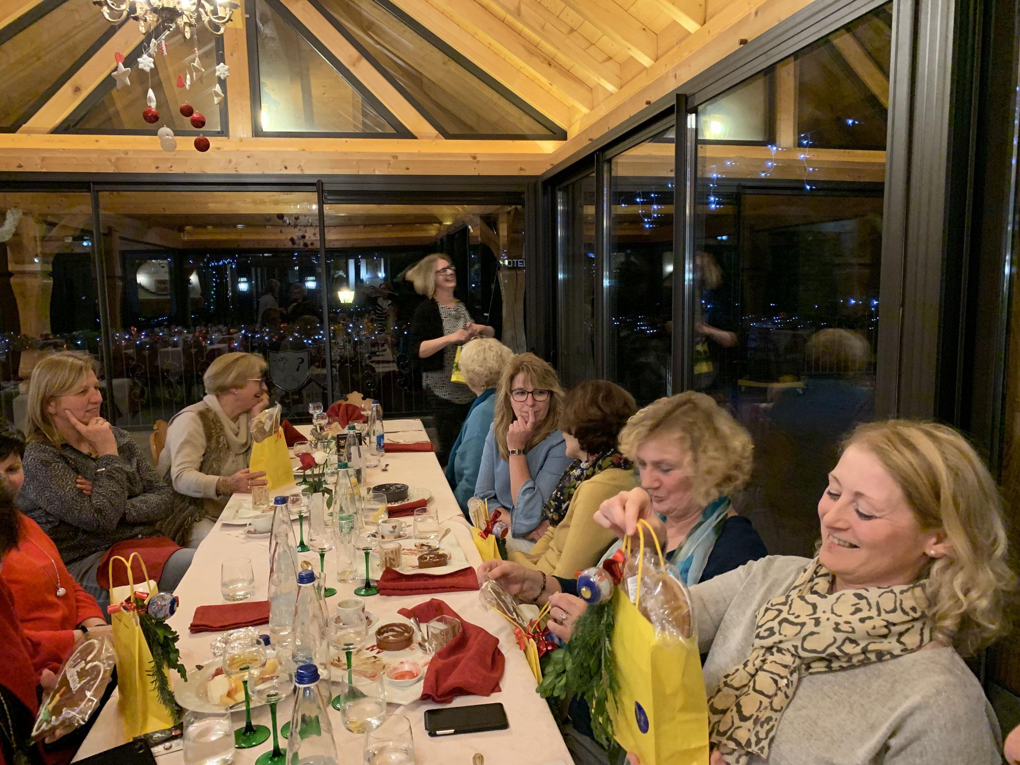 11-2018 Ausflug ins Elsass - Abendessen in Heiligenstein