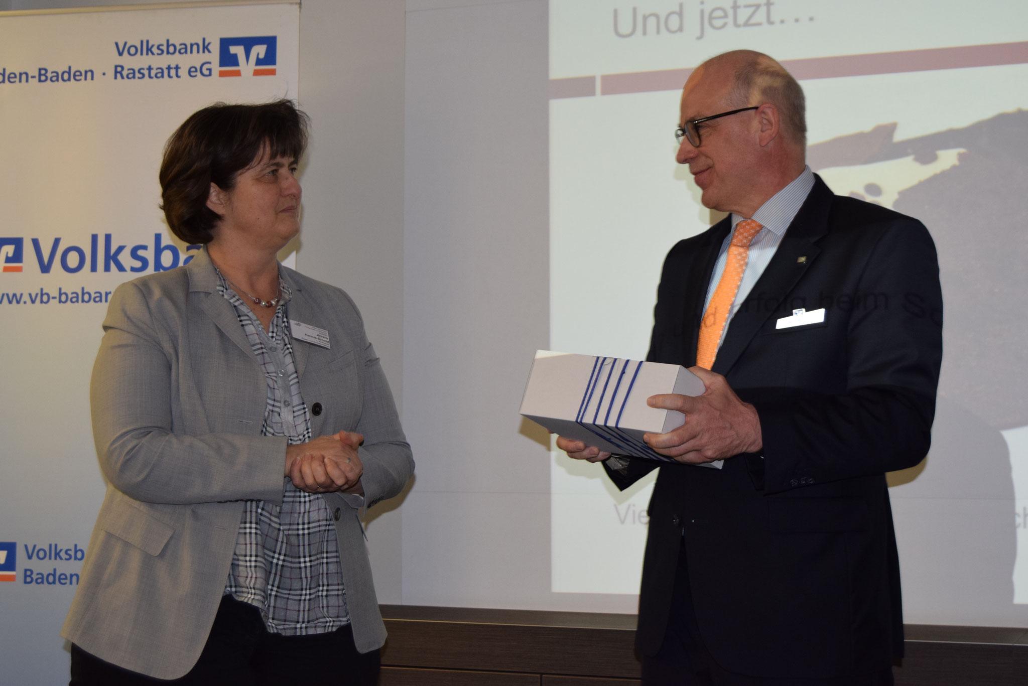03-2019 Dank an den Gastgeber Volksbank BaBaRa Herrn B. Veit