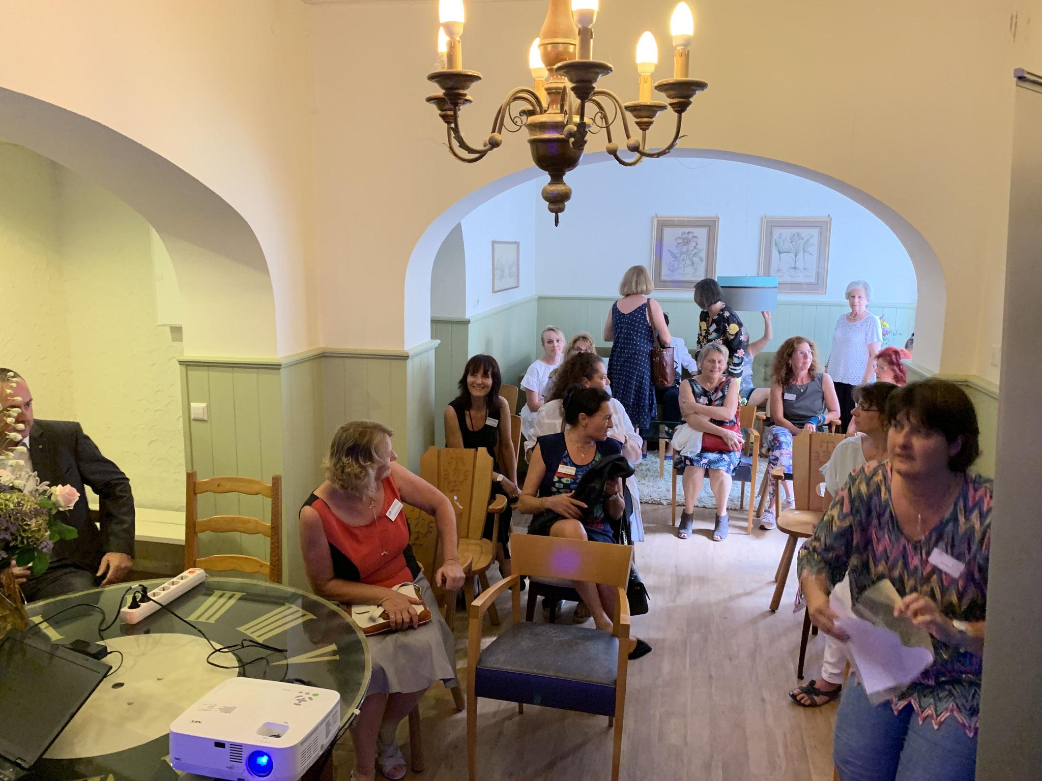 07-2019 Vortrag von Herrn Galioto, Signal Iduna- Gebäudeversicherung