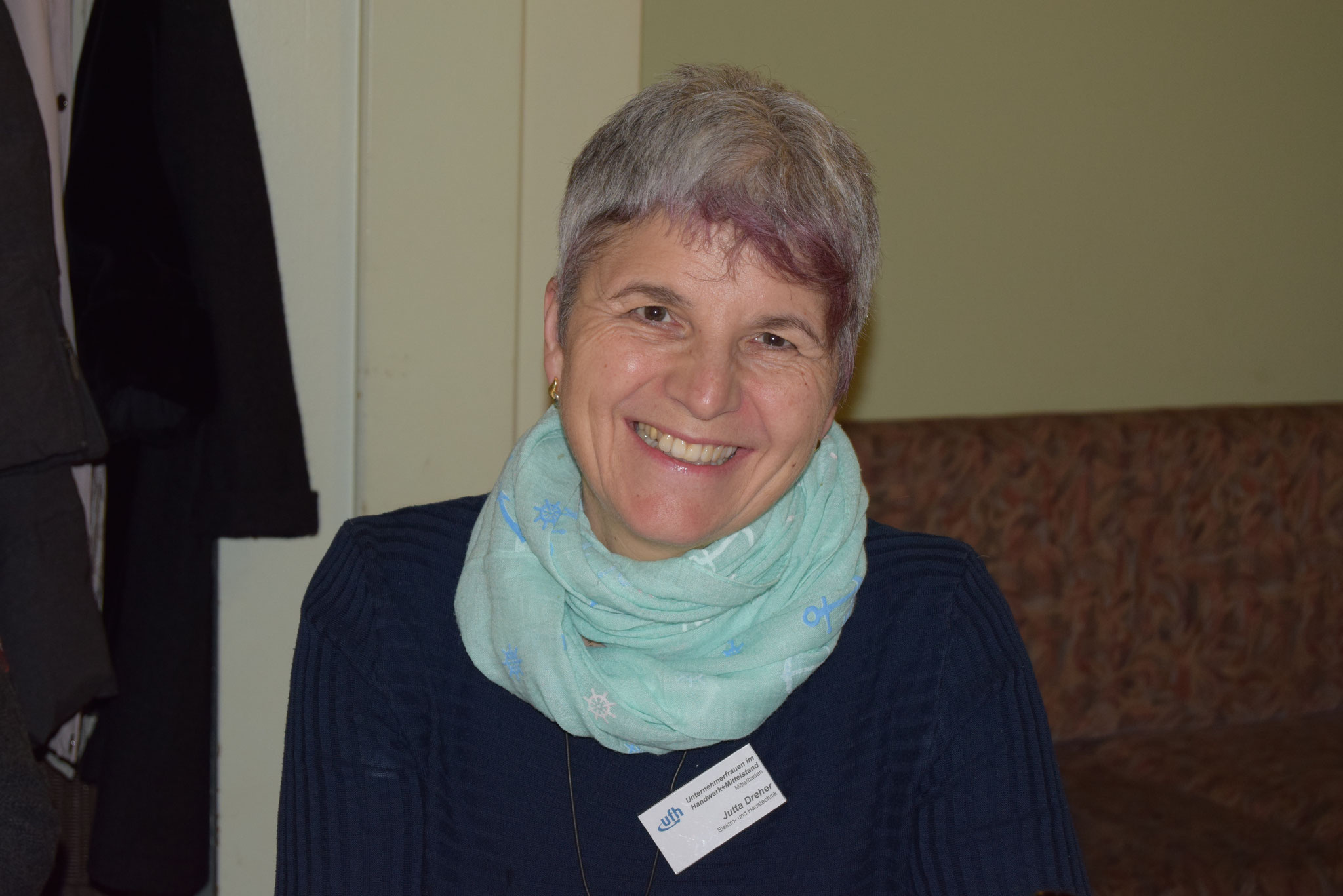 01-17 zum ersten Mal dabei: unser neues Mitglied Frau Dreher
