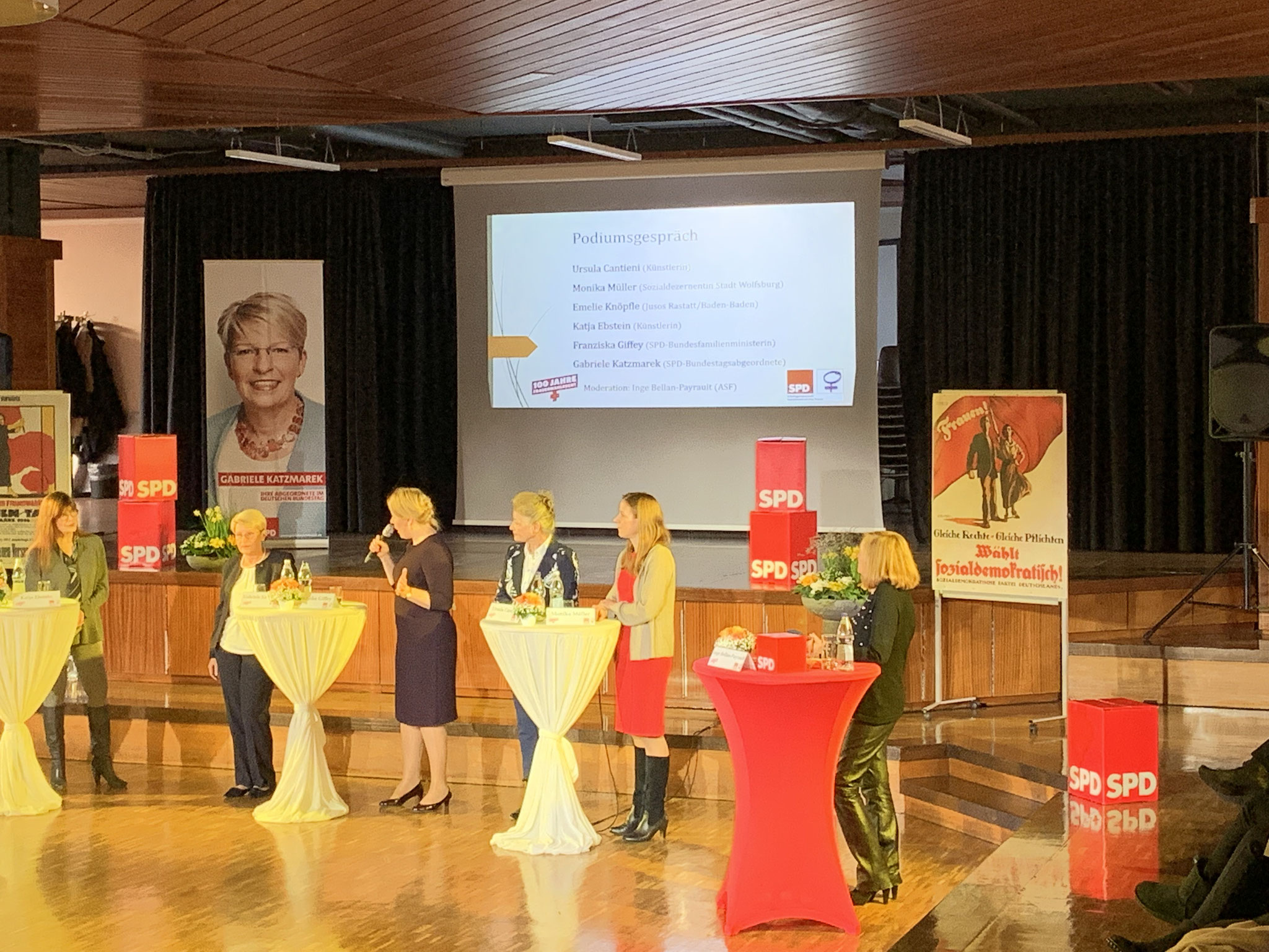 """01-2019 Festakt """"100 Jahre Frauenwahlrecht"""" in Rastatt"""