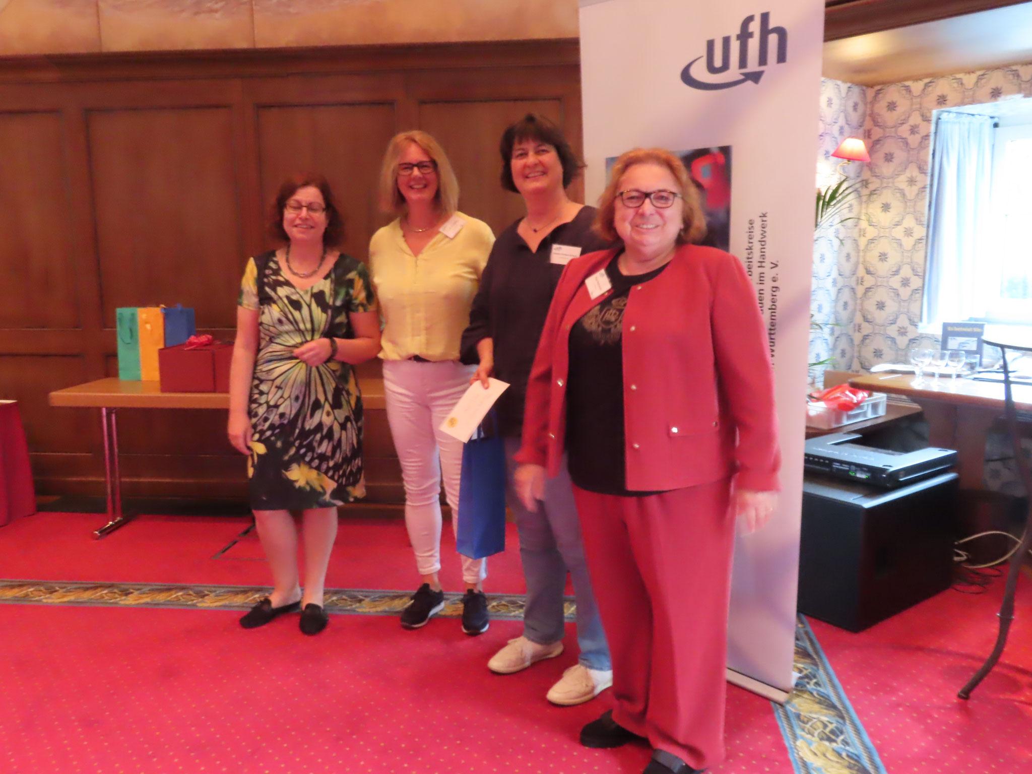 09-2019 ufh-Landesverbandtagung in Rust Ehrung zum 35. Bestehen des AK Mittelbaden