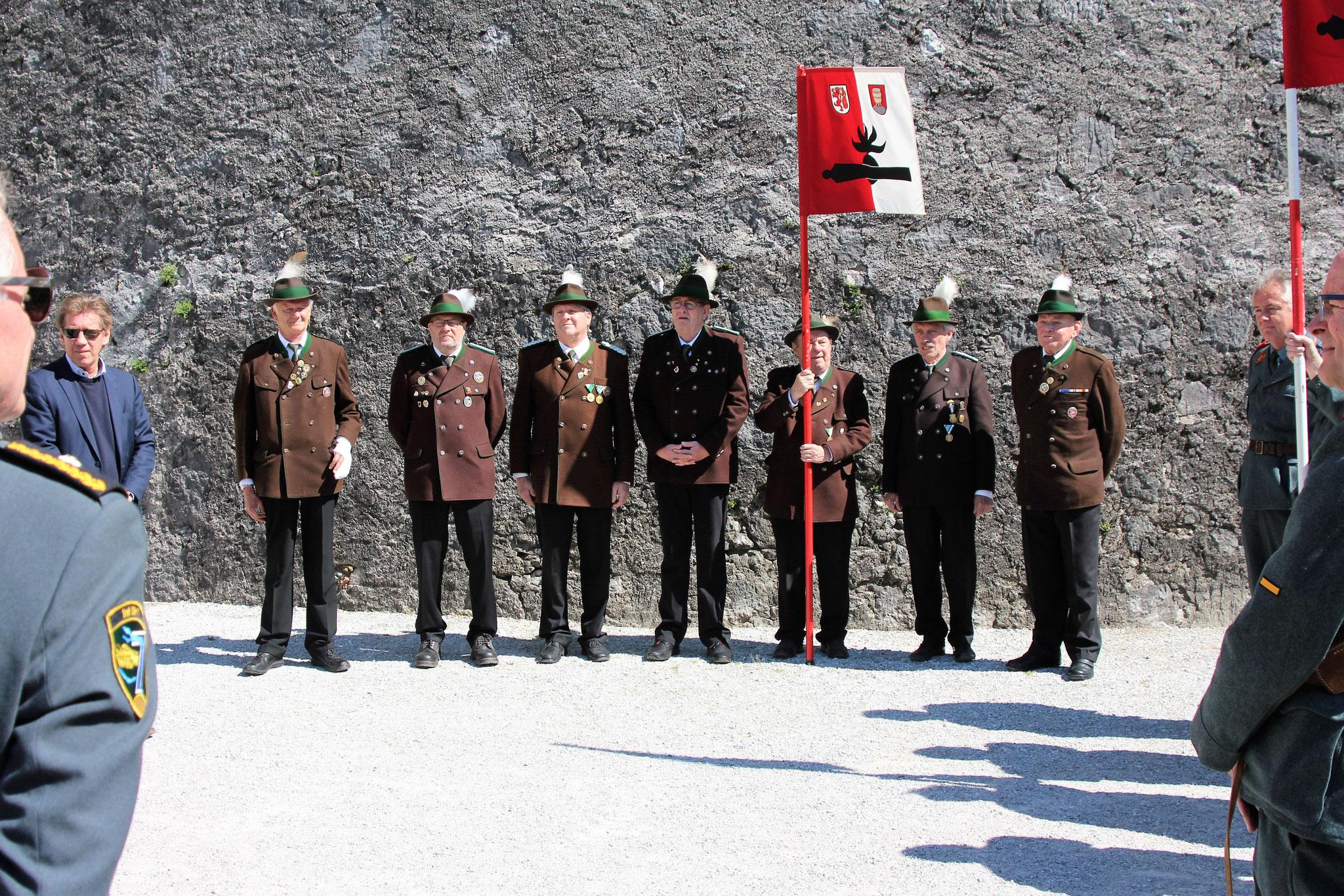 Die Kufsteiner Mannschaft wartet auf den Einsatz Inspektion in Kufstein