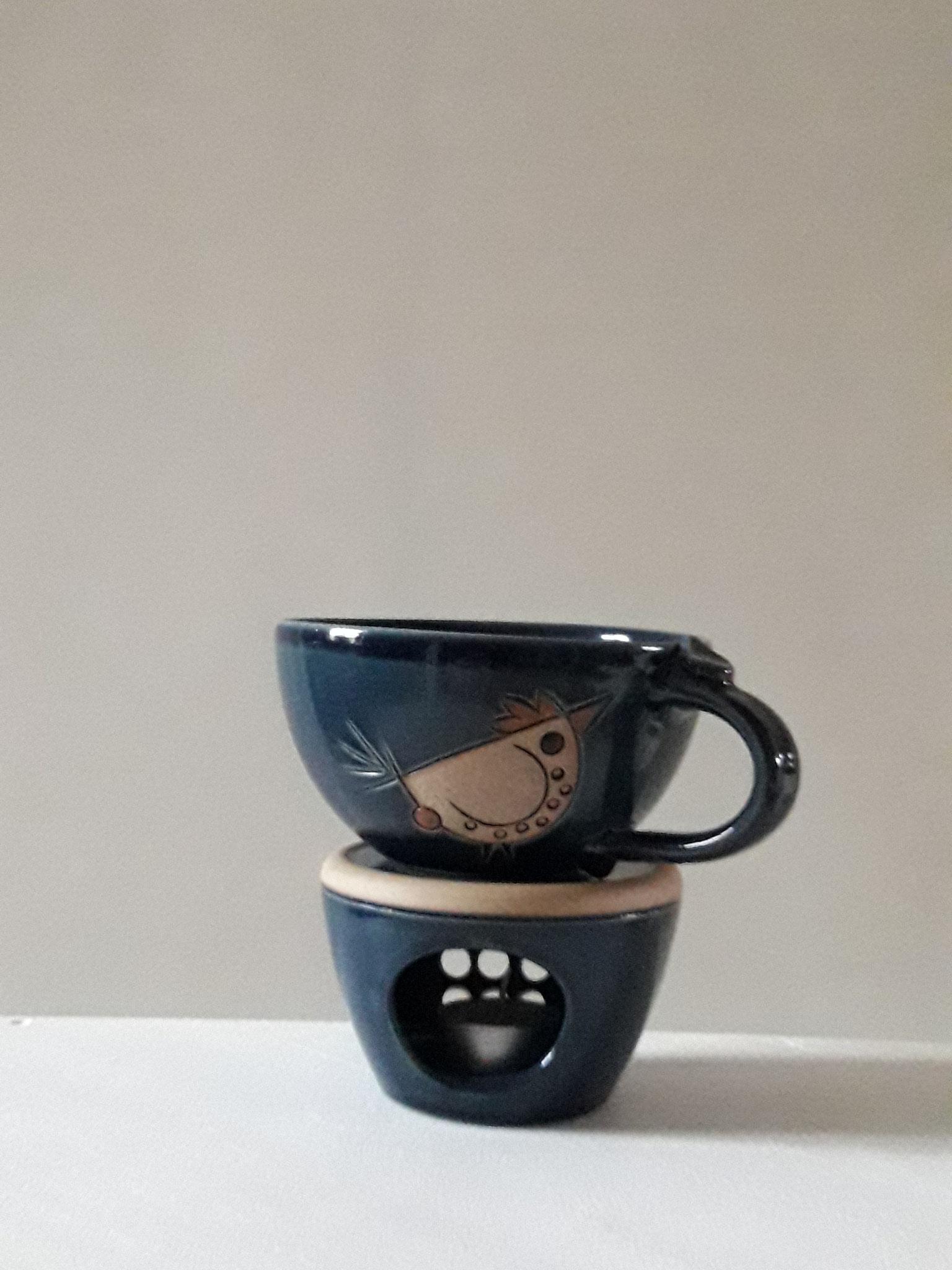 Caffee au lait, nachtblau, 500 ml