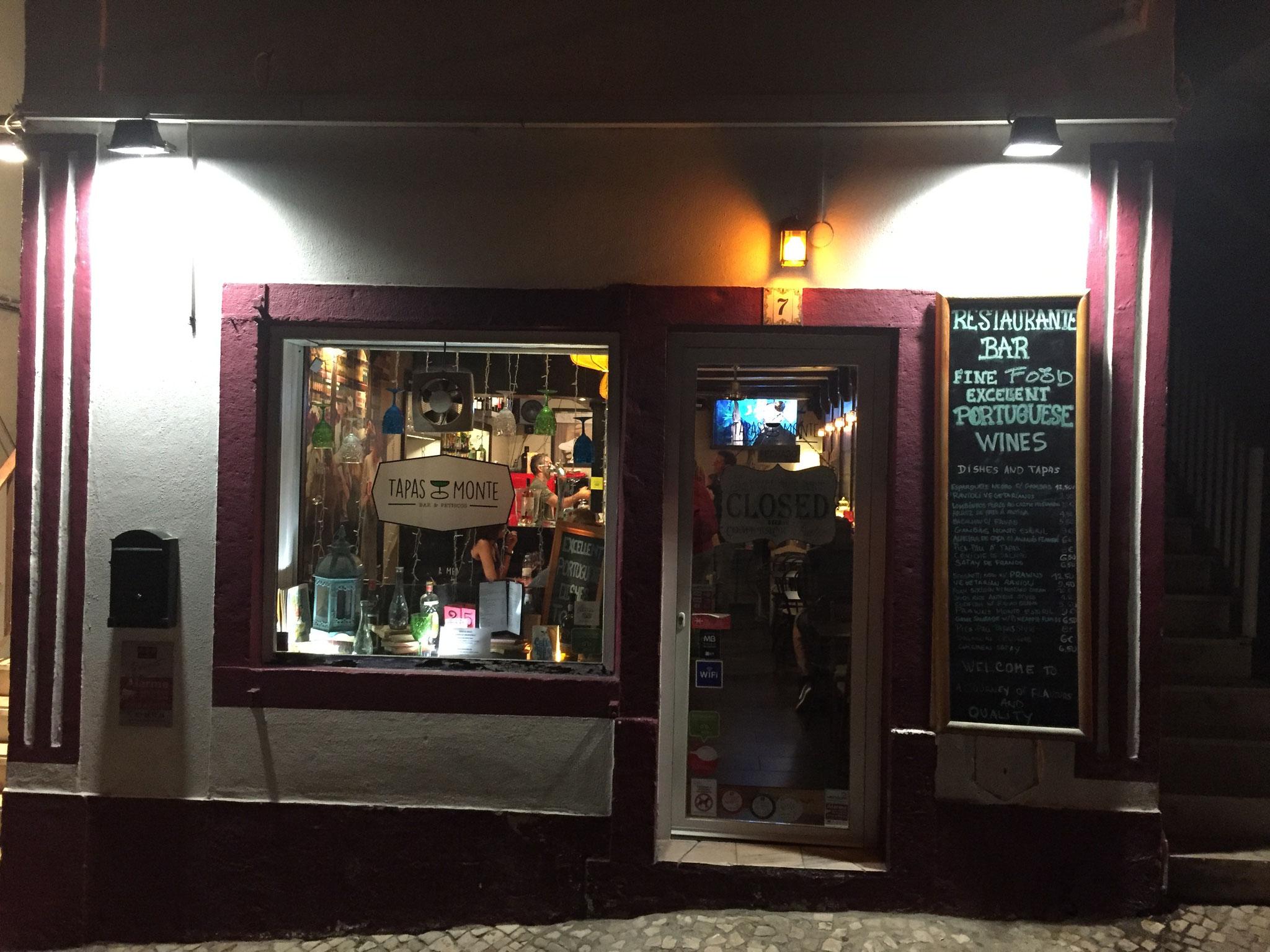 Tapas Bar, Estoril